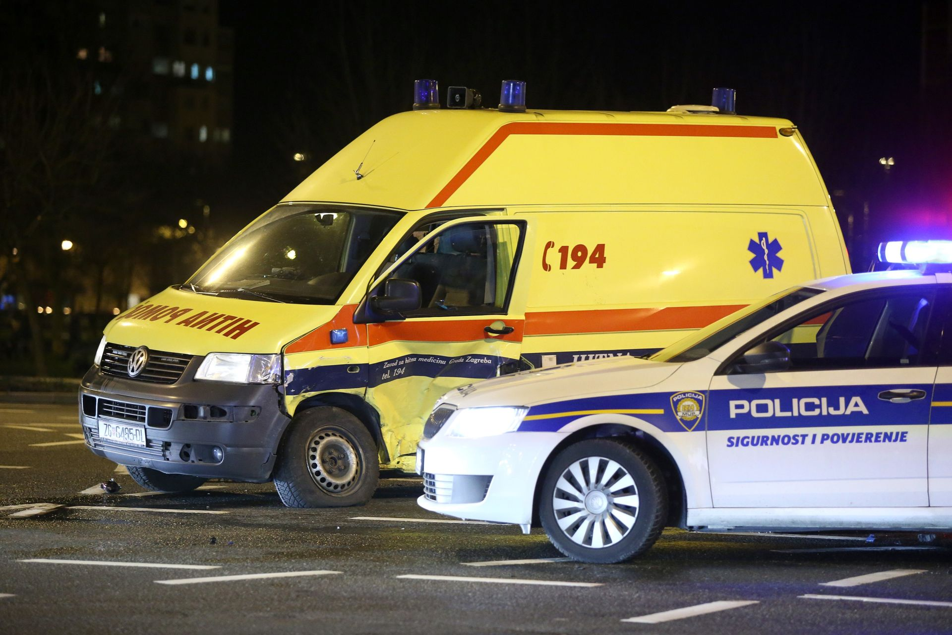 TRAGEDIJA KOD KOPRIVNICE Automobil naletio na pješake, poginulo dvogodišnje dijete, otac u bolnici