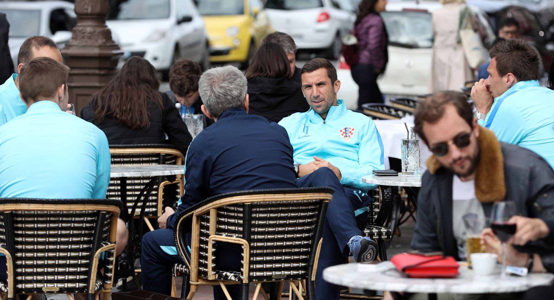 "EURO 2016: ""Vatreni"" se prošetali Deauvilleom"
