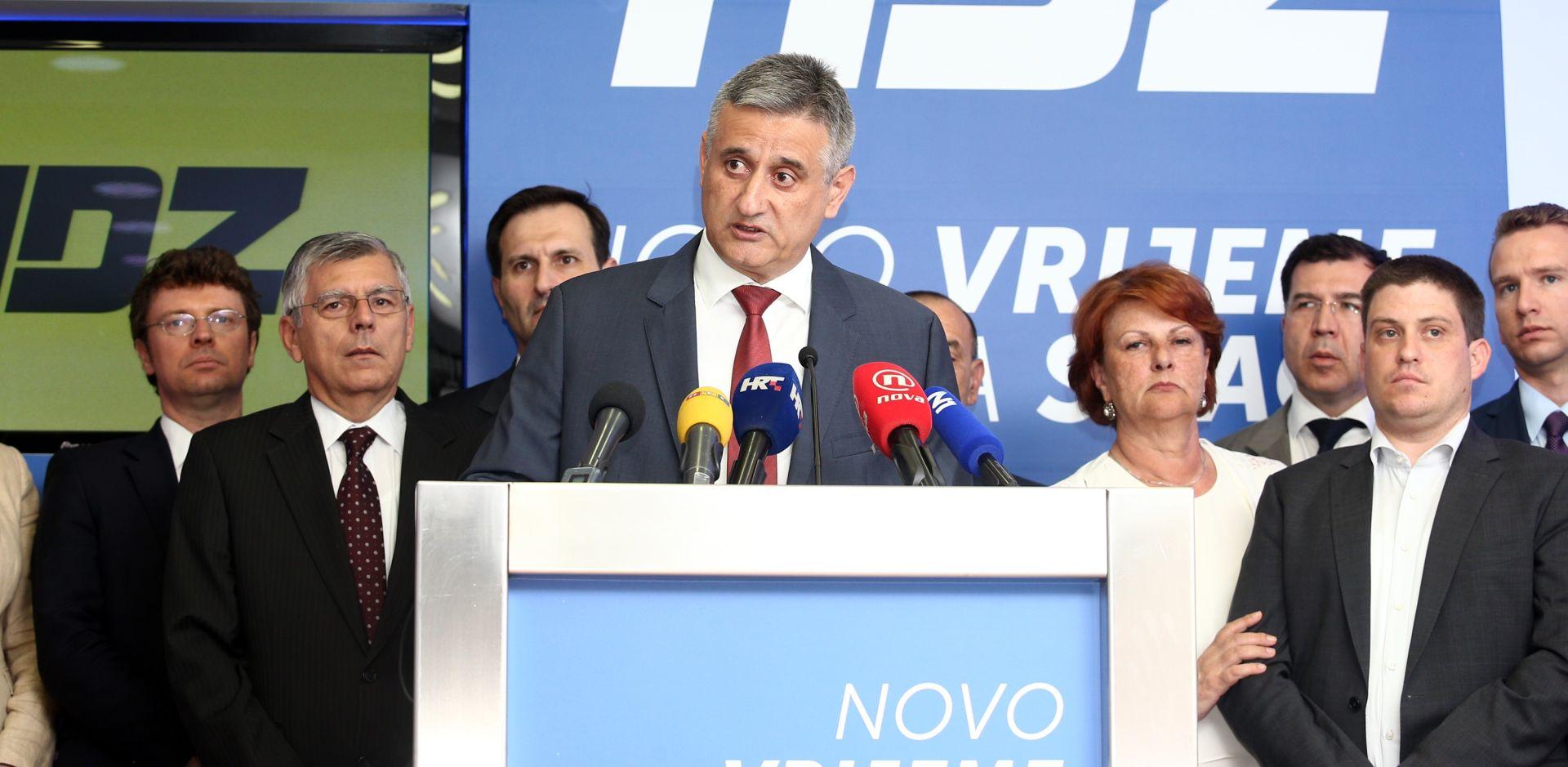 Karamarko: 'Bilo bi najbolje da ja, Božo Petrov i Tihomir Orešković izađemo iz Vlade'