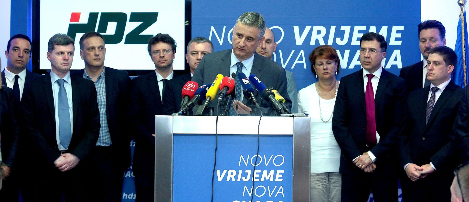SASTANAK PREDSJEDNIŠTVA HDZ-a: Danas će se tražiti Karamarkova ostavka ili slijedi njegovo rušenje