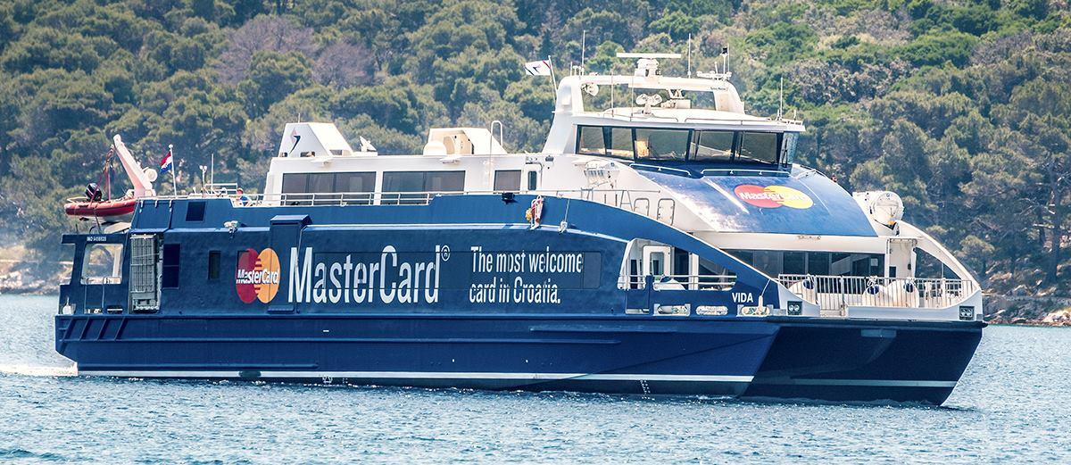 FOTO: Moderan katamaran 'Vida' novi je brod u floti Jadrolinije