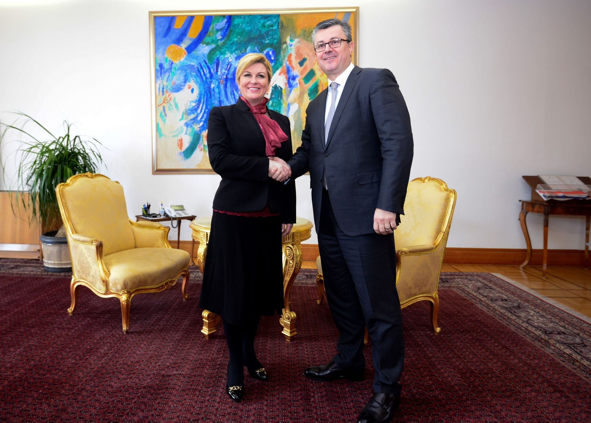 NAKON PADA VLADE: Predsjednica za sutra sazvala konzultacije na Pantovčaku