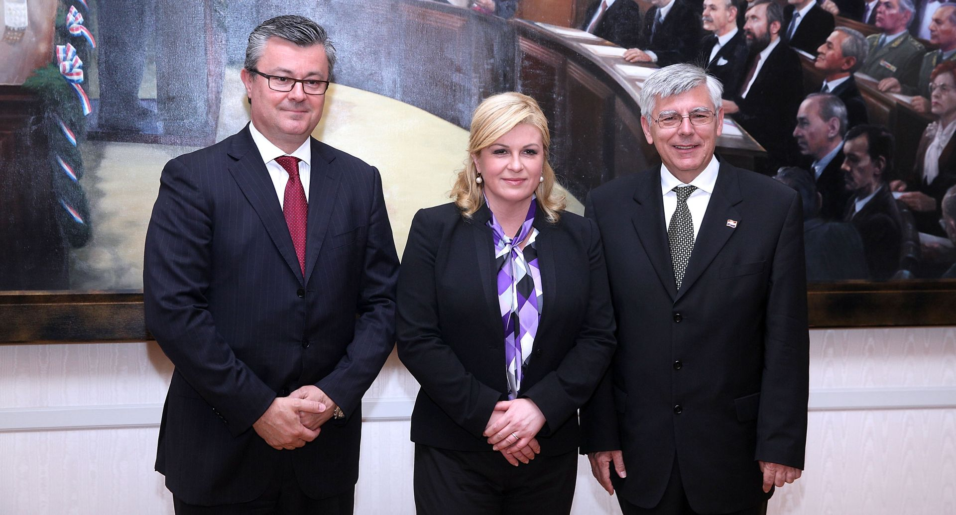 SASTANAK NA PANTOVČAKU: Orešković i Reiner kod predsjednice o stanju u državi