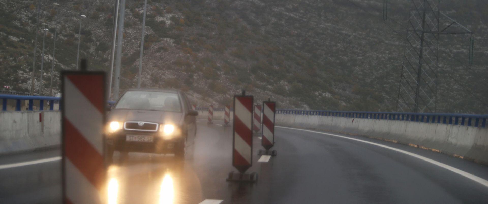 HAK: Kolnici mokri i skliski u većem dijelu zemlje