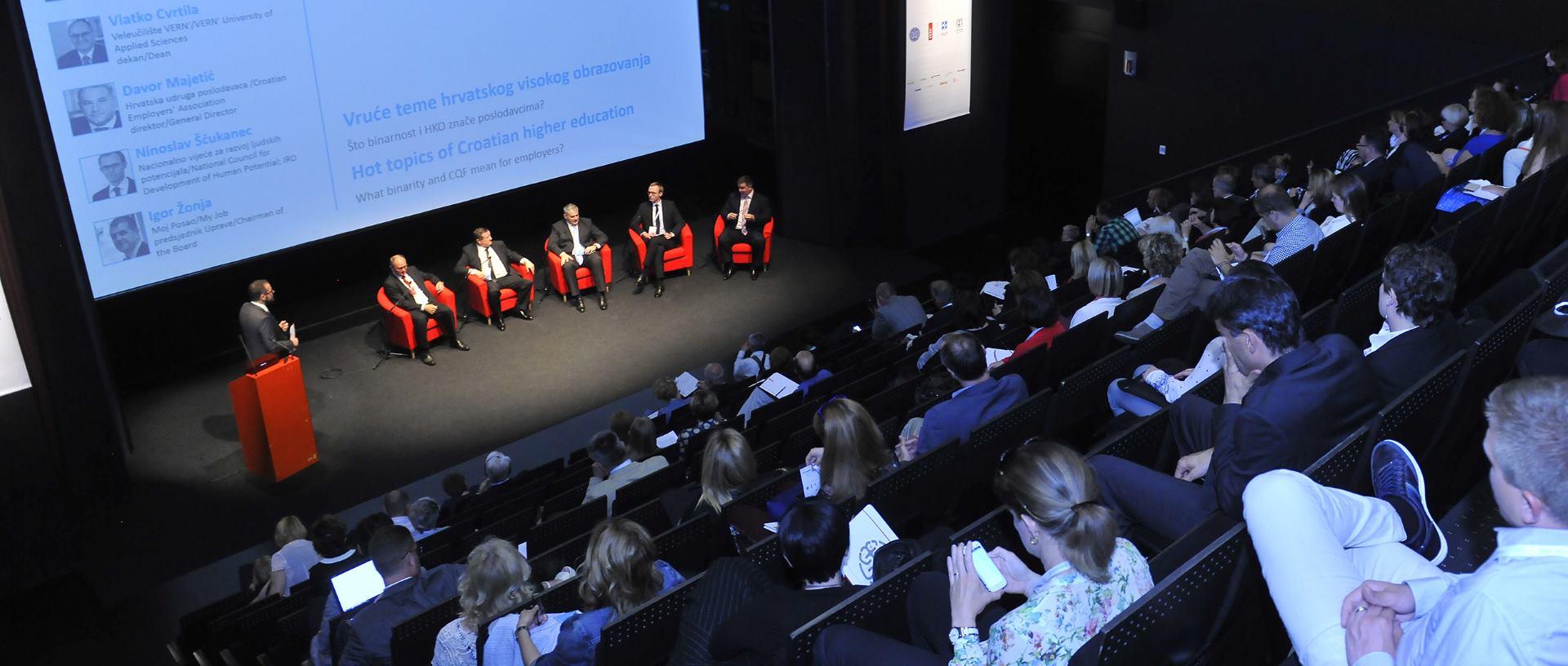 Održana prva konferencija OBRAD u organizaciji Veleučilišta VERN'