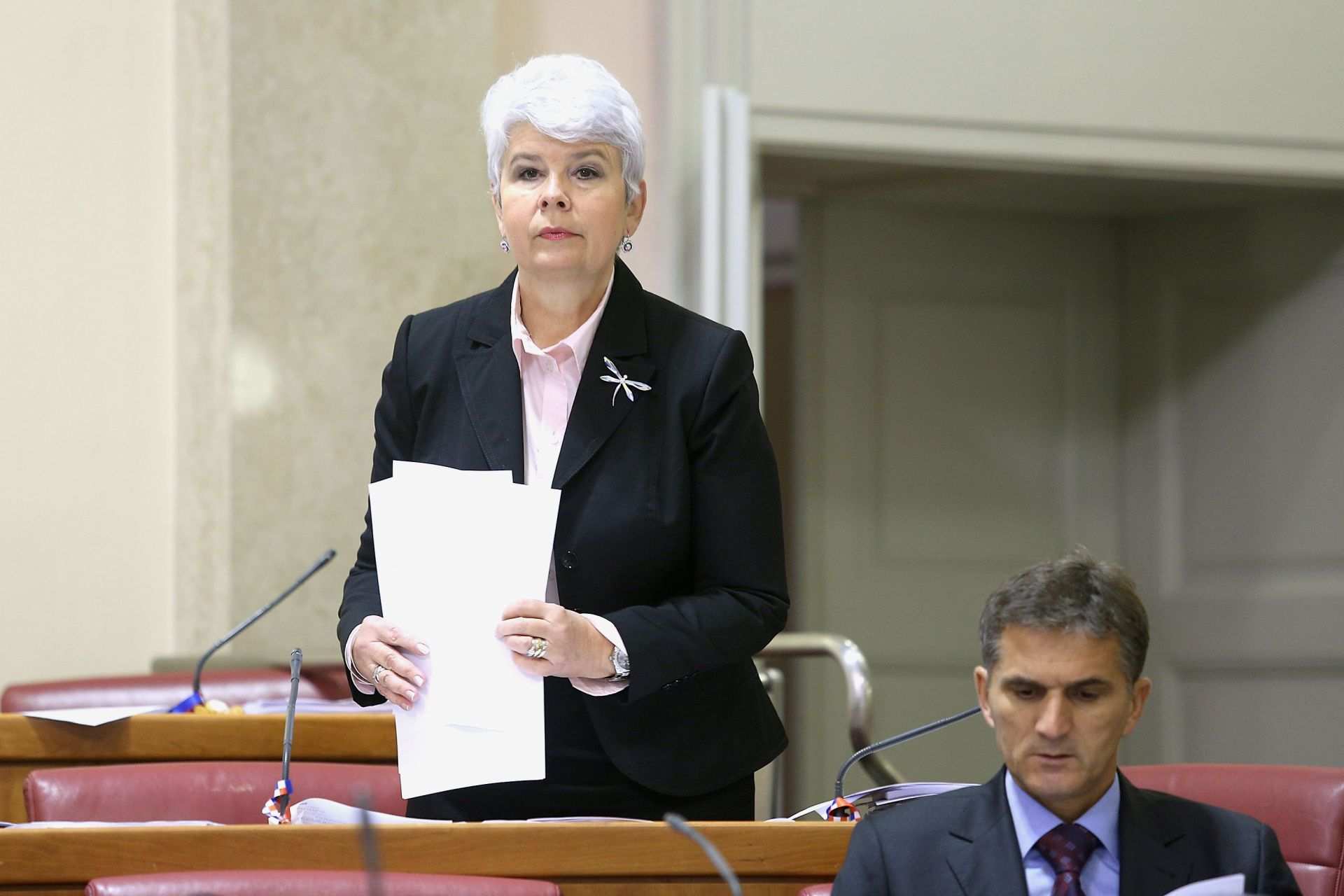 Jadranka Kosor: ' Najpouzdaniji Timov ministar spreman ga je srušiti, kako će ga Marić pogledati u oči?'