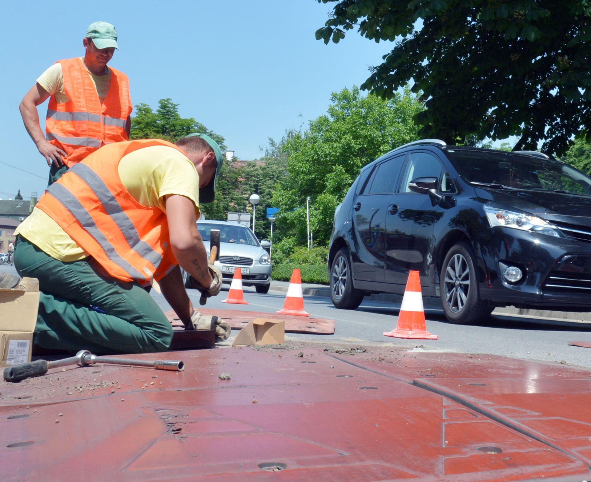 "TRIATLON SAVEZ: U ŠRC Jarun uklanjaju se betonski ""ležeći policajci"""