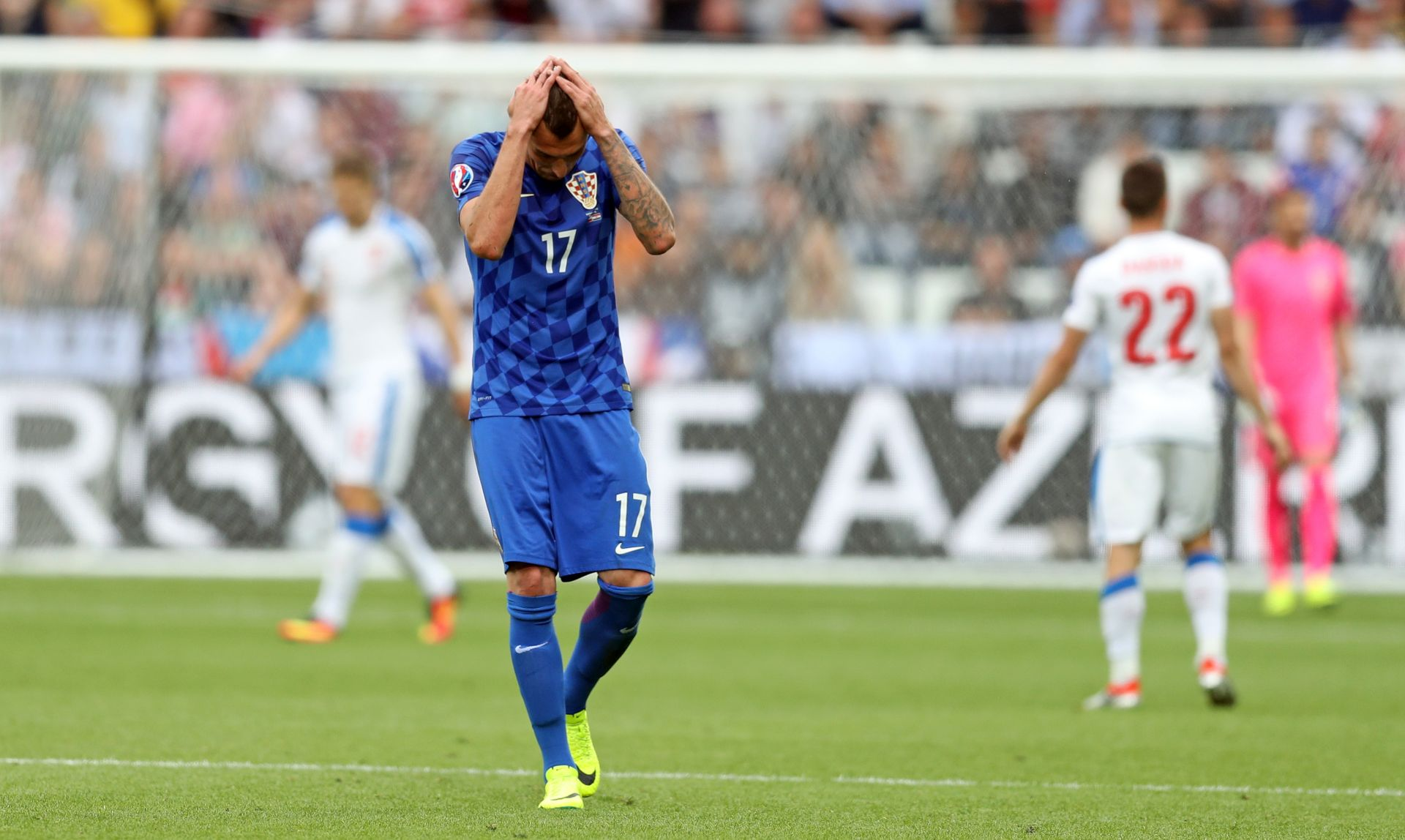 EURO 2016 Mandžukić: Sve ovo je žalosno