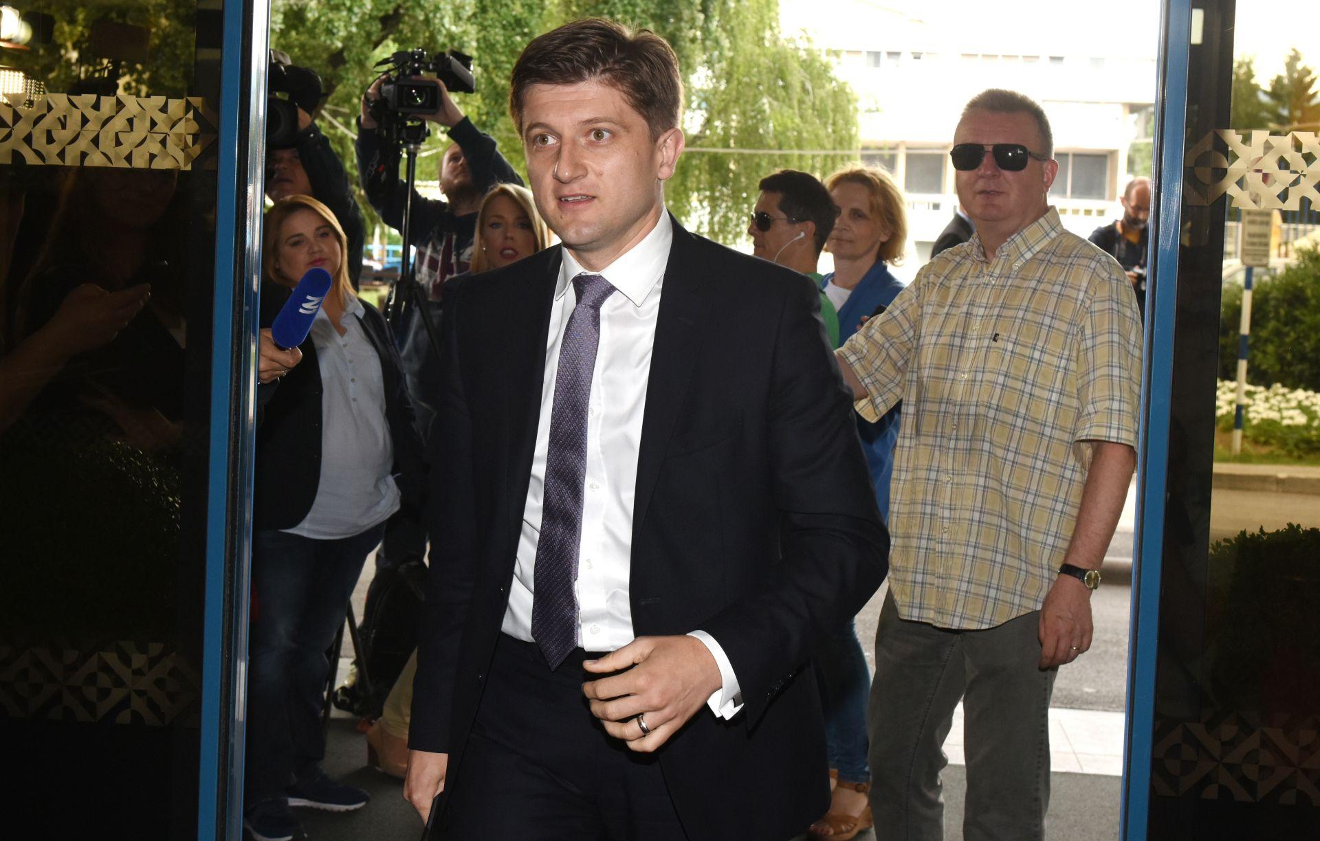 ZAVRŠEN SASTANAK HDZ-a Milošević: 'Postoji parlamentarna većina koja je spremna podržati Marića'
