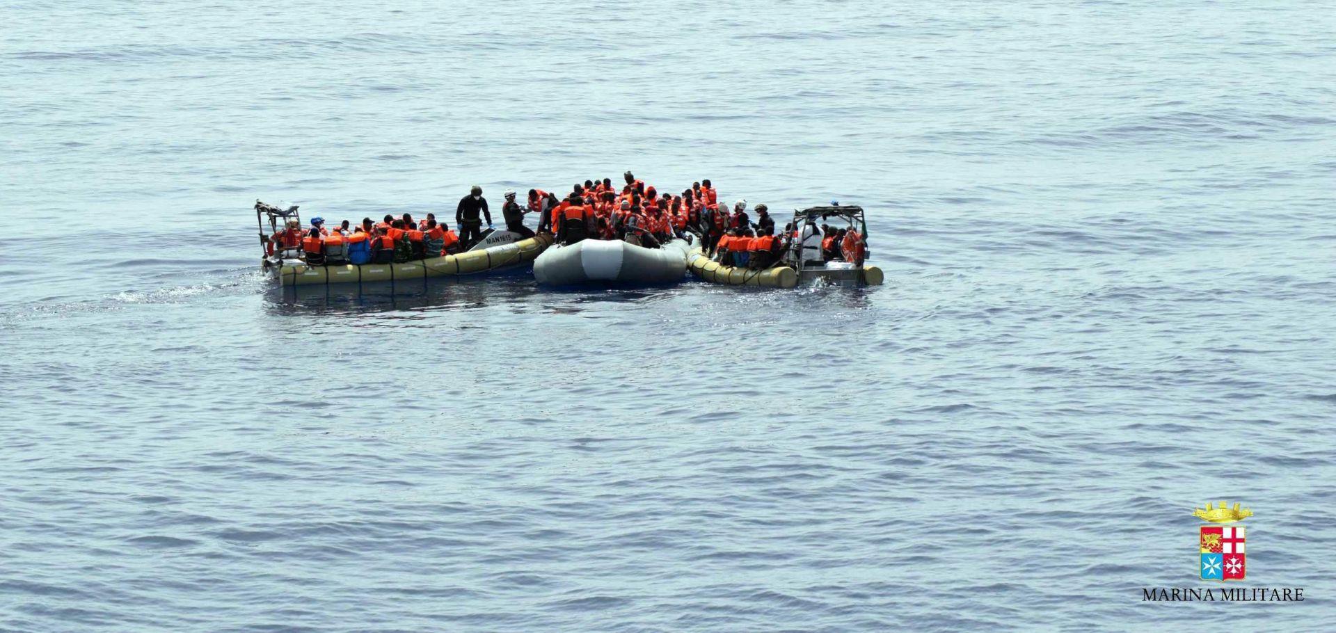 TALIJANSKA OBALNA STRAŽA: Više od 1300 migranta spašeno na moru