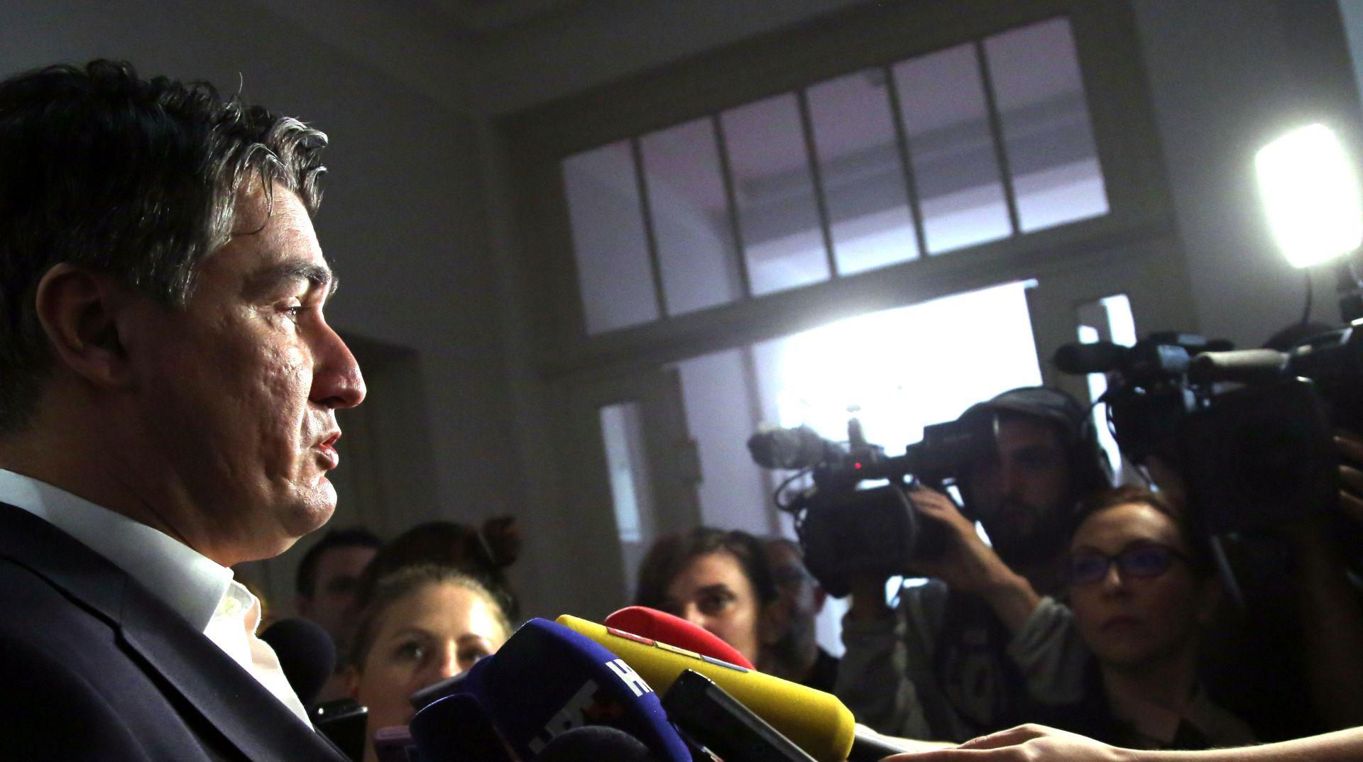 Milanović: Imamo najmanje 64 potpisa, sad je na MOST-u da odluče prema svojoj savjesti