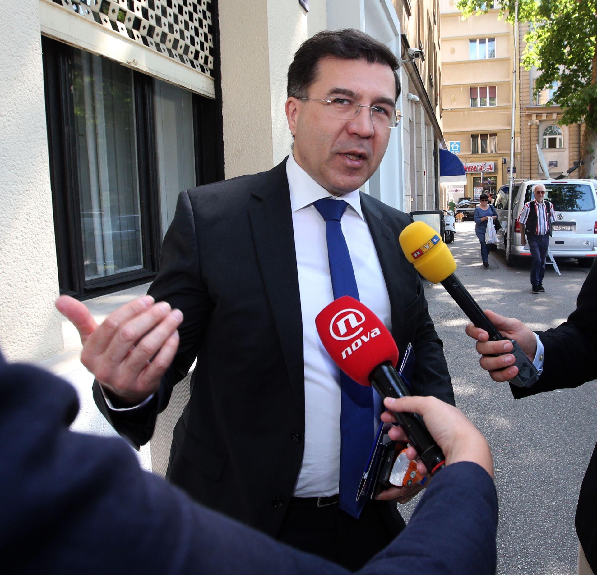 Domagoj Ivan Milošević: Karamarkova odluka je 'časna'