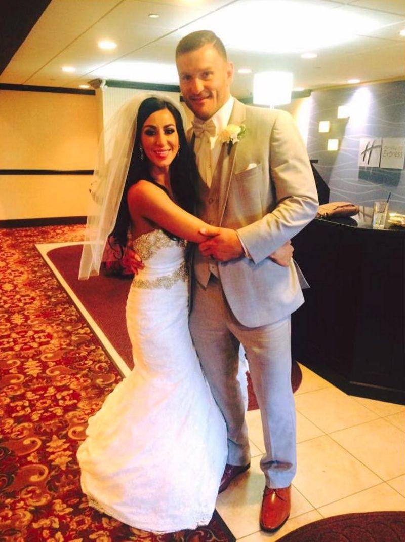 FOTO: UFC prvak Stipe Miočić uplovio u bračnu luku