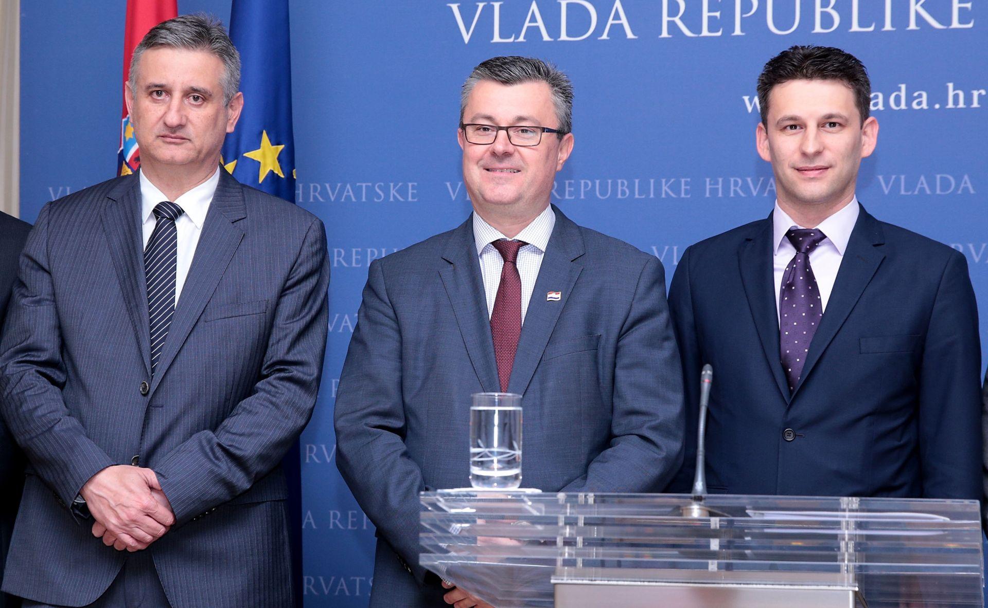 Zajednička izjava Oreškovića, Karamarka i Petrova: Ostvarenje zajedničkih ciljeva i dalje prioritet