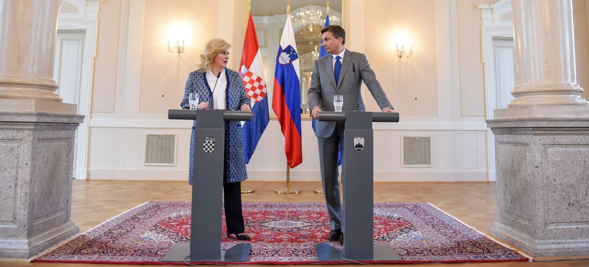 Pahor se hrvatskoj predsjednici požalio na hrvatska uzgajališta školjaka u Savudrijskoj vali