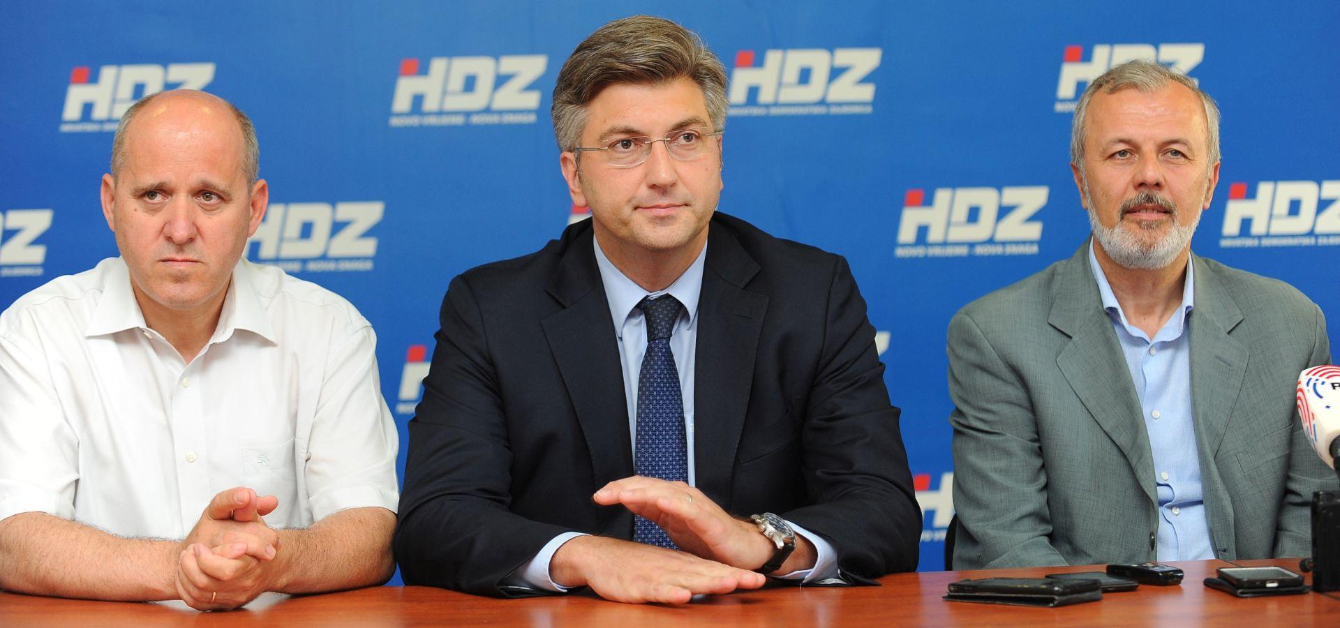 Predsjednici organizacija HDZ-a četiriju dalmatinskih županija podržavaju Plenkovića