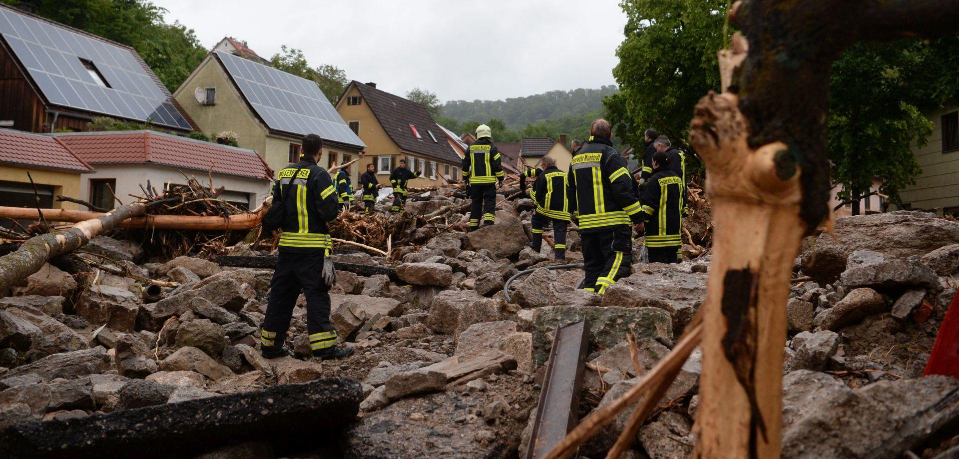 OBILNE KIŠE: Četvero mrtvih u poplavama u Njemačkoj