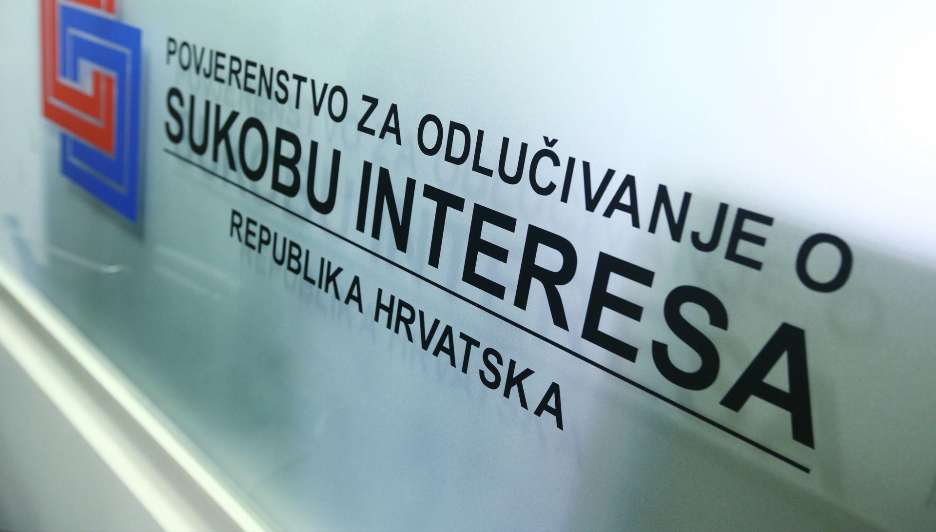 MIŠLJENJA I ODLUKE: Povjerenstvo za odlučivanje o sukobu interesa