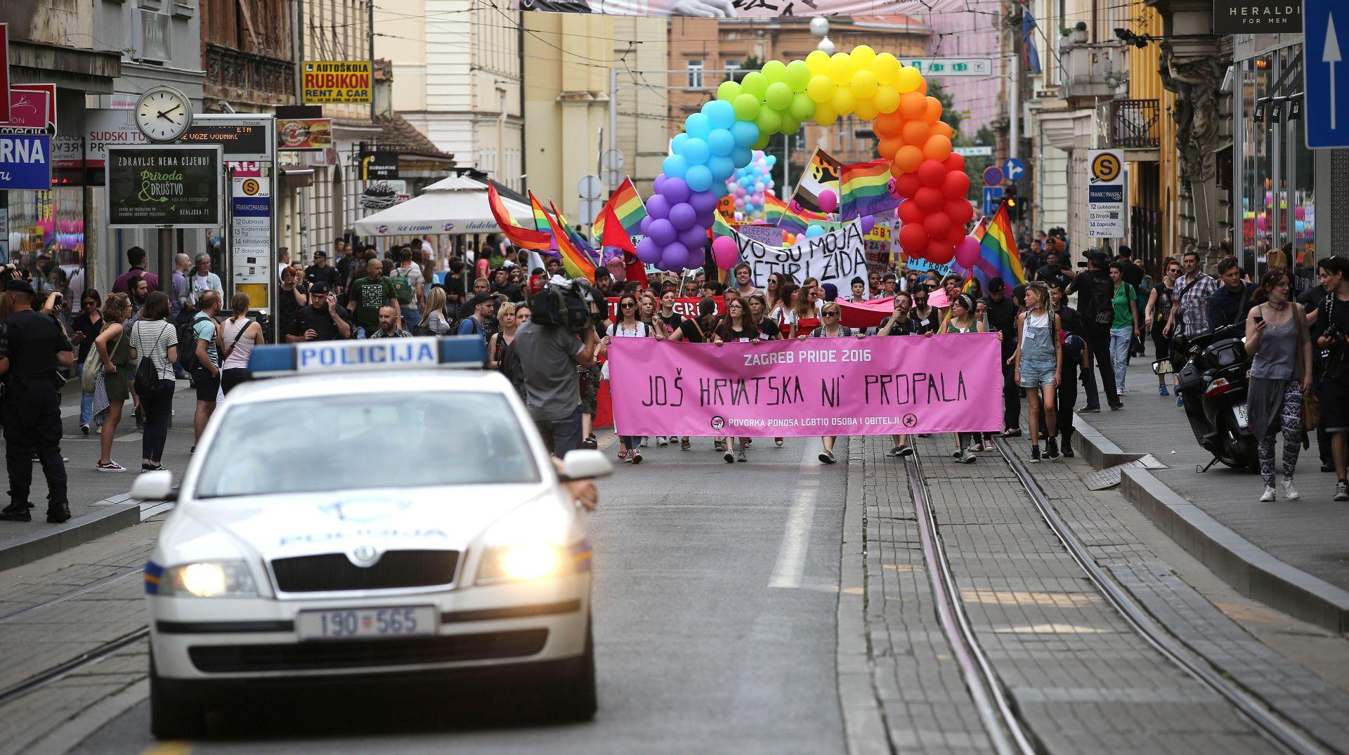 ZAGREB PRIDE: LGBTIQ osobe upozorile na smjer u kojem ide Hrvatska