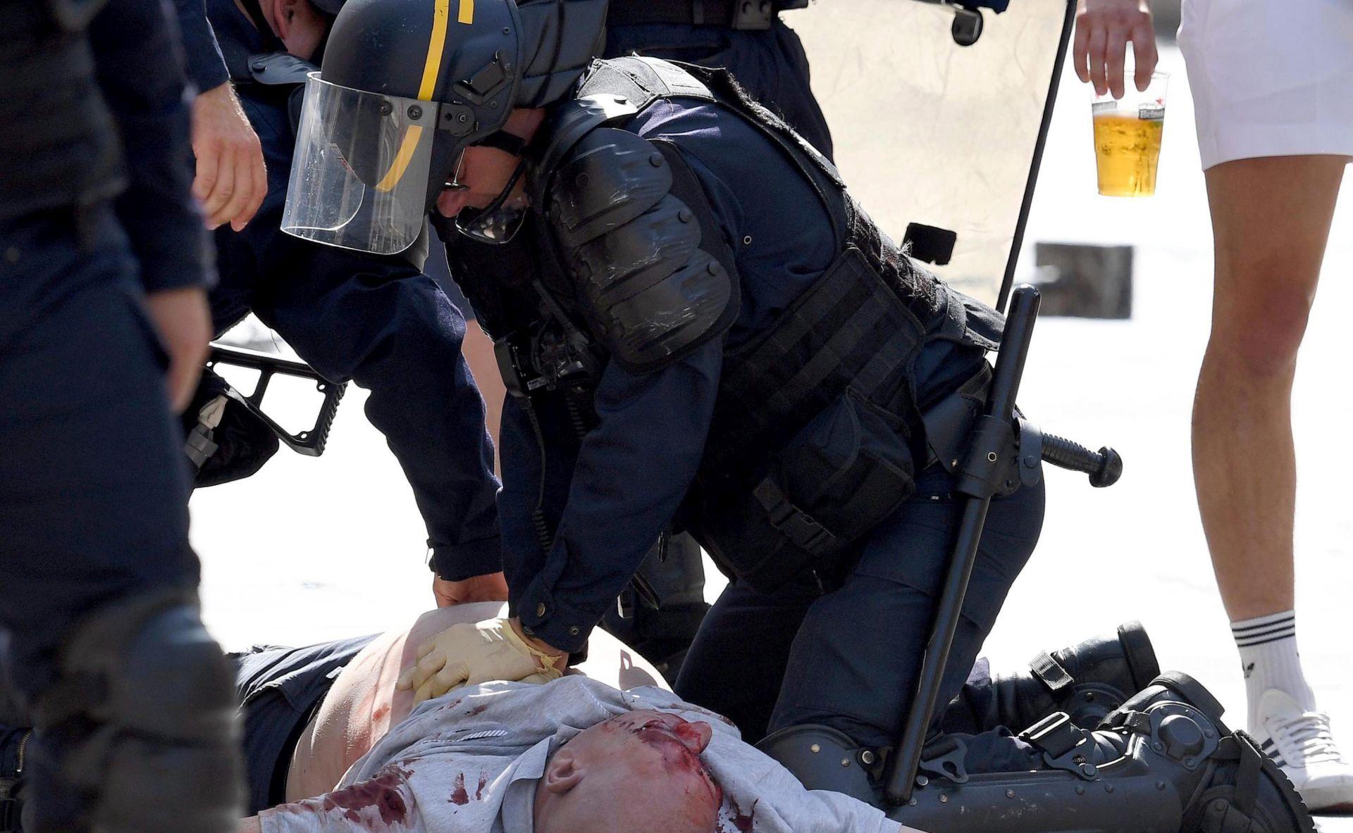 EURO 2016: Francuska policija izbacuje 29 ruskih navijača iz zemlje