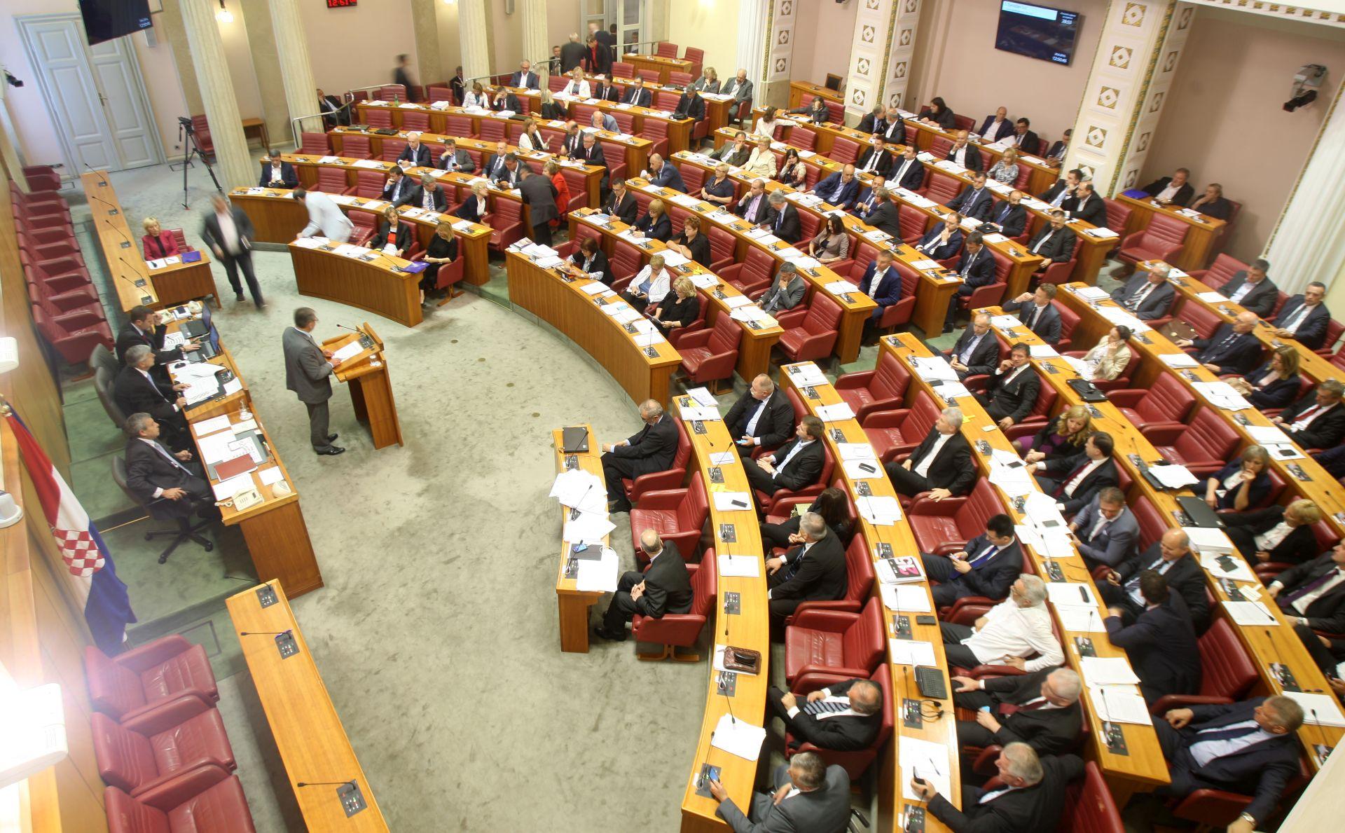 RASPUŠTEN HRVATSKI SABOR: Odluka stupa na snagu 15. srpnja