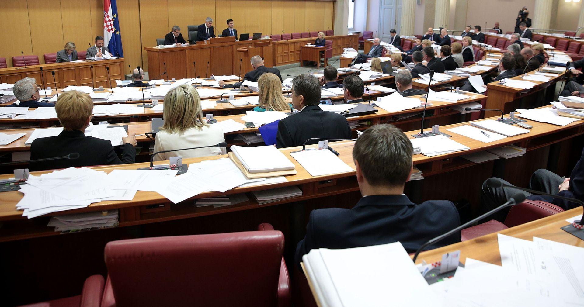 NASTAVAK RASPRAVE: Sabor u petak o izmjenama Zakona o ravnopravnosti spolova