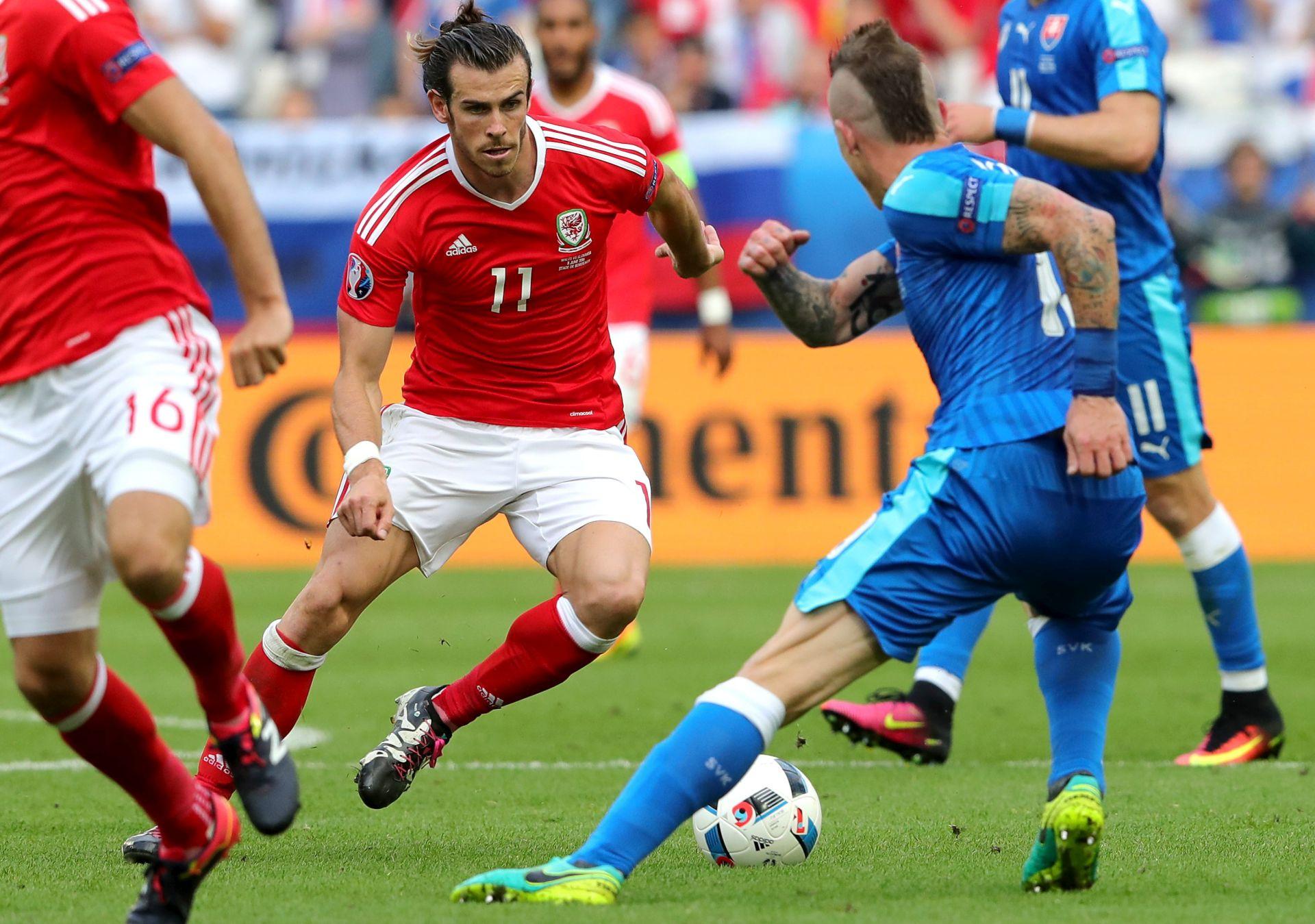 EURO 2016: Wales slavi, tuga Slovaka