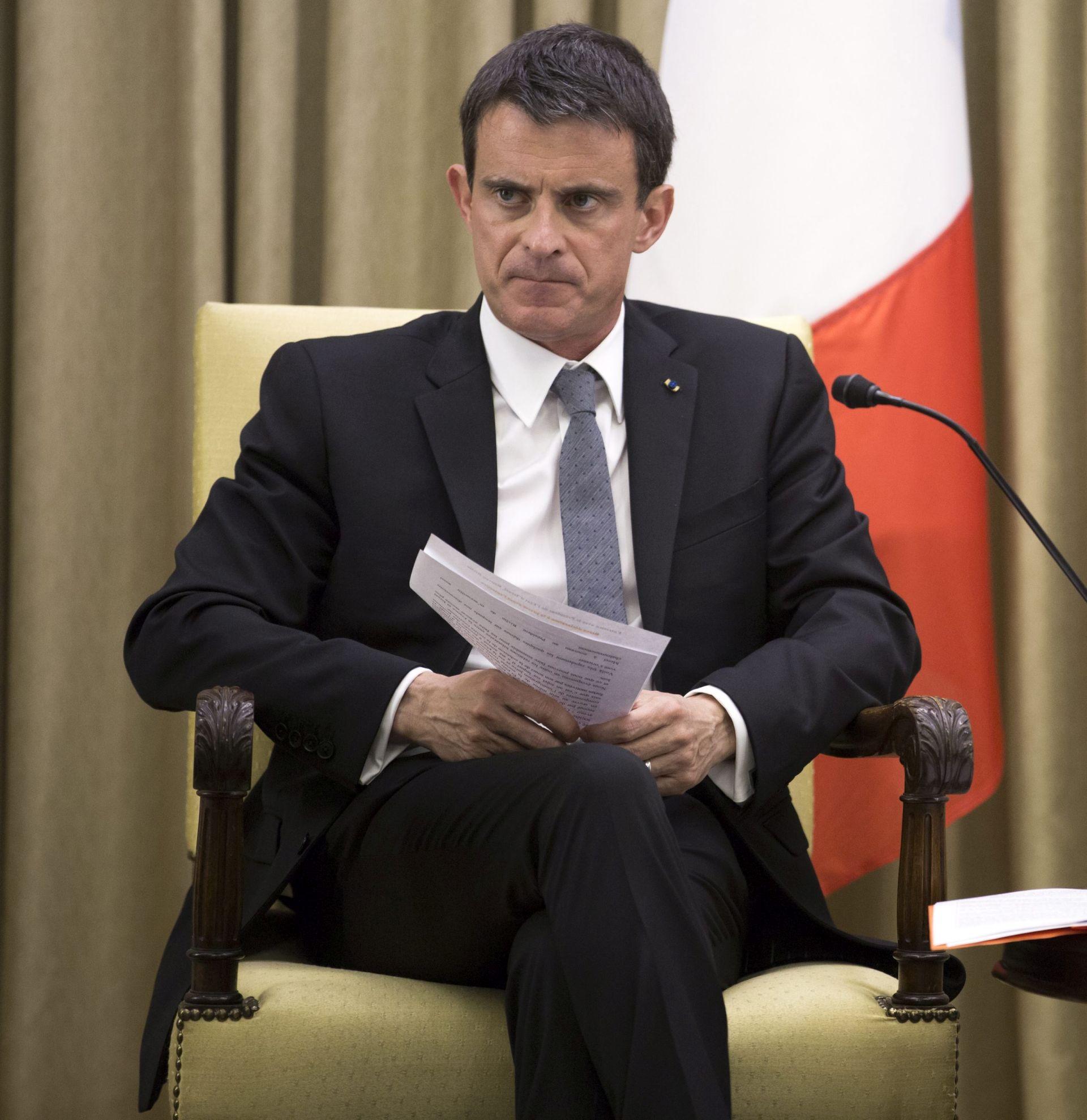 Francuski premijer Valls najavio ulazak u predsjedničku utrku