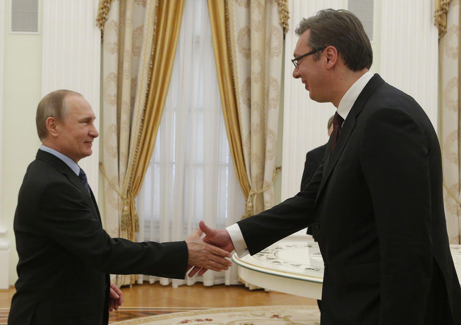 Putin se sastaje u Sočiju s Vučićem nakon špijunske afere