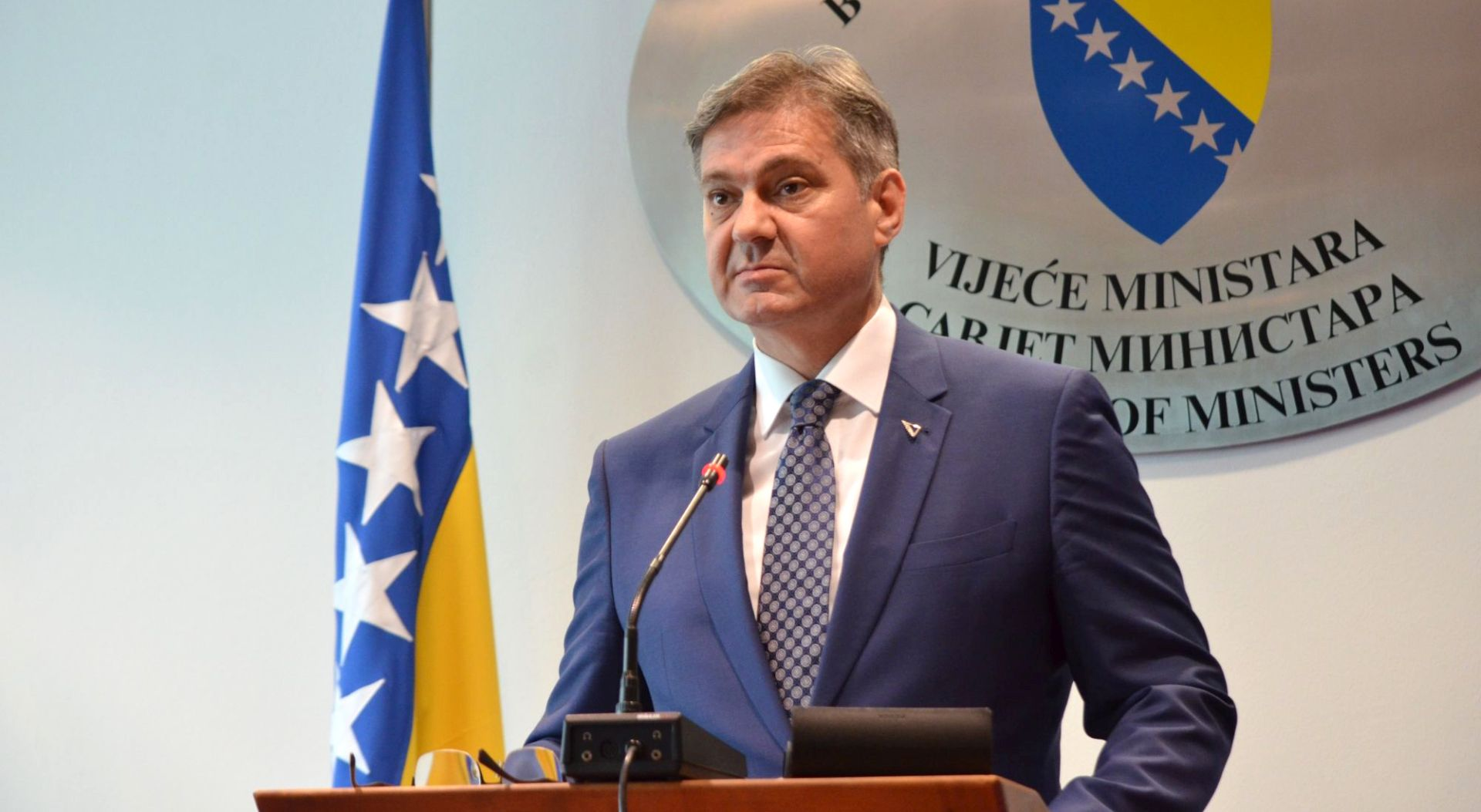 Zvizdić Dodiku: Drina će zauvijek biti granica BiH i Srbije