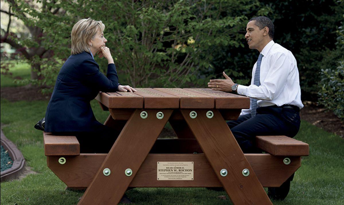 FELJTON Instinkt žene koja želi naslijediti Obamu