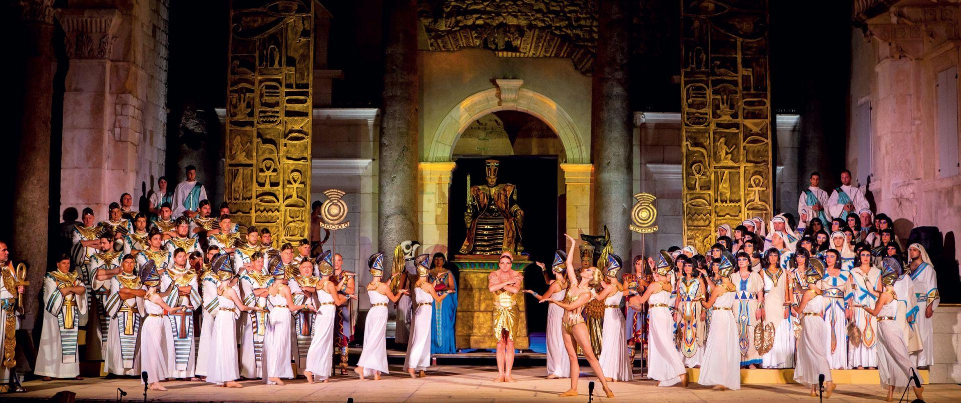 Opera 'Aida' – zaštitni znak Splitskog ljeta