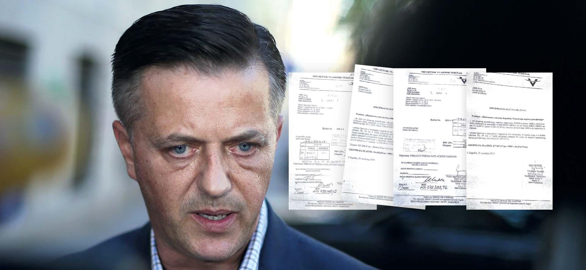 Policija sumnja da je AKD odvjetniku HDZ-a nelegalno isplatio 660 tisuća kuna honorara