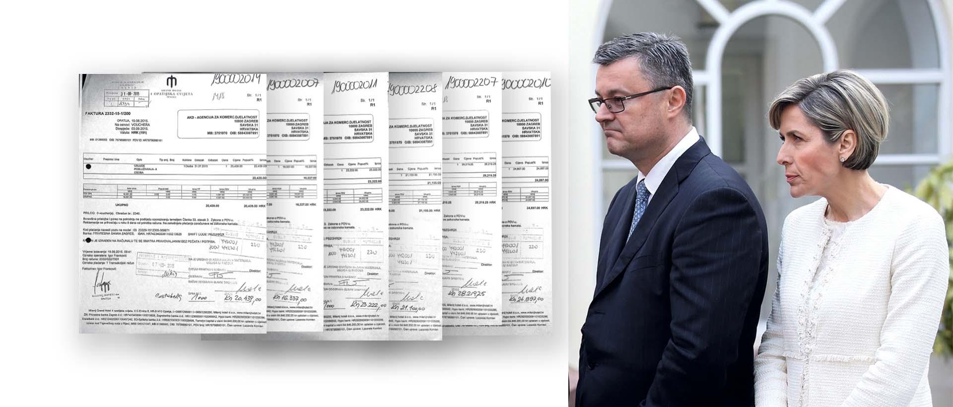 EKSKLUZIVNO Računi hrvatske političke elite iz opatijske vile Costabelle