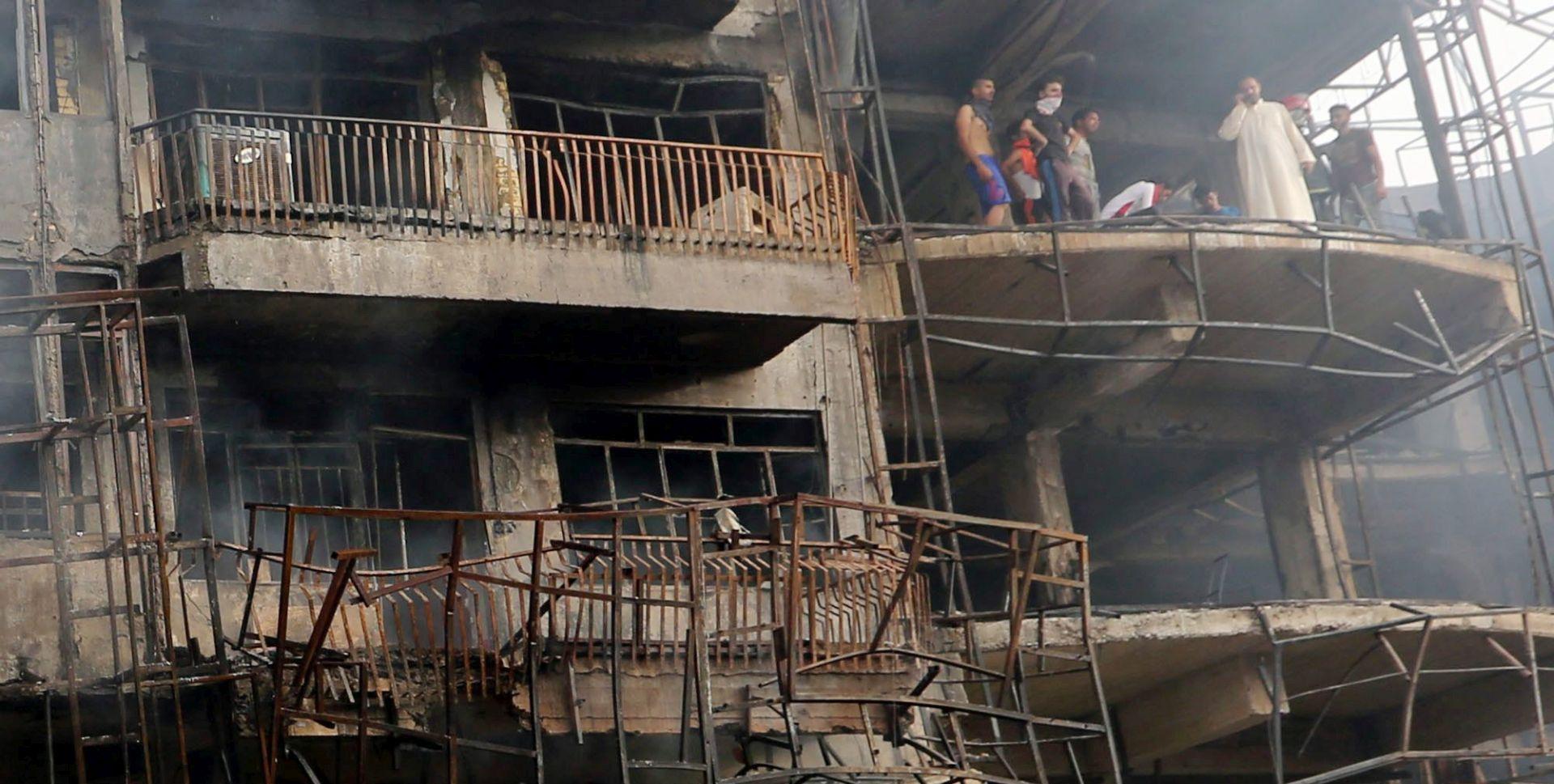 BOMBAŠKI NAPAD U BAGDADU Poginulo najmanje 125 osoba, još 150 ozlijeđeno