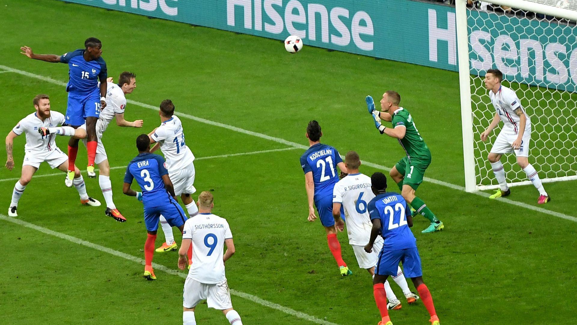 FOTO: SENZACIJA PRVENSTVA IDE KUĆI Francuska furiozno u polufinale, kiša golova u Parizu