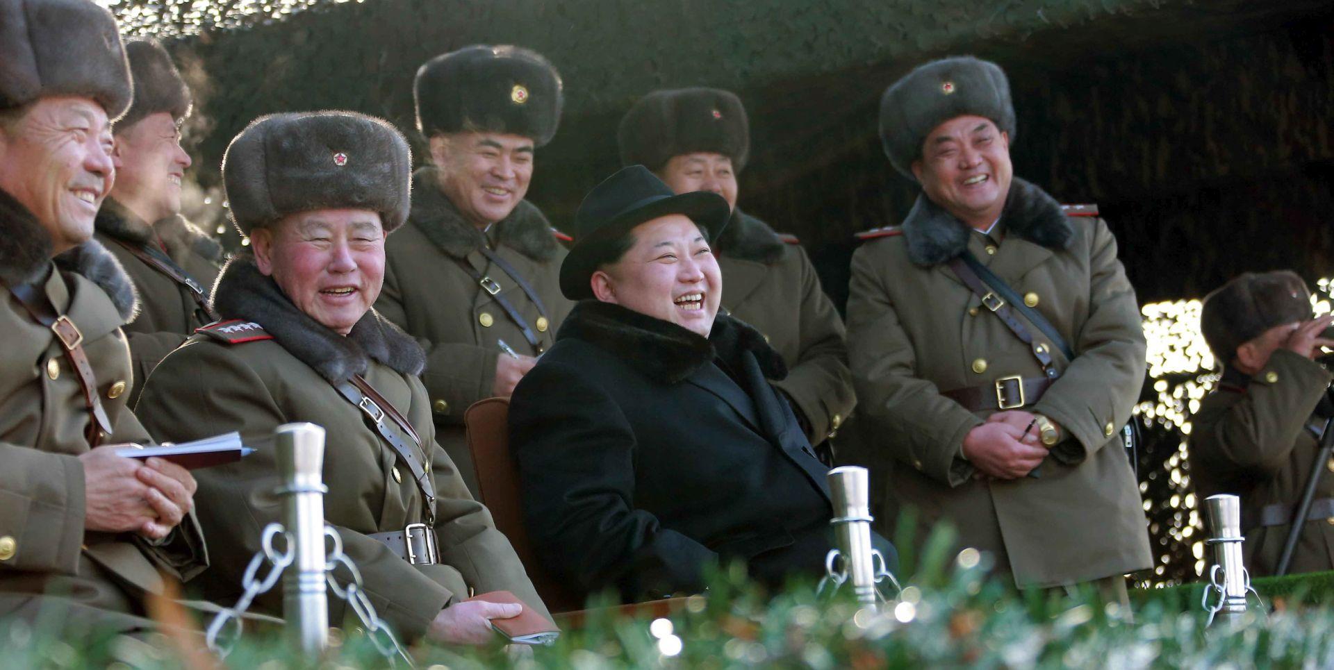 """KIM JONG-UN BIJESNI """"Američke financijske sankcije su otvorena objava rata, slijedi odmazda"""""""