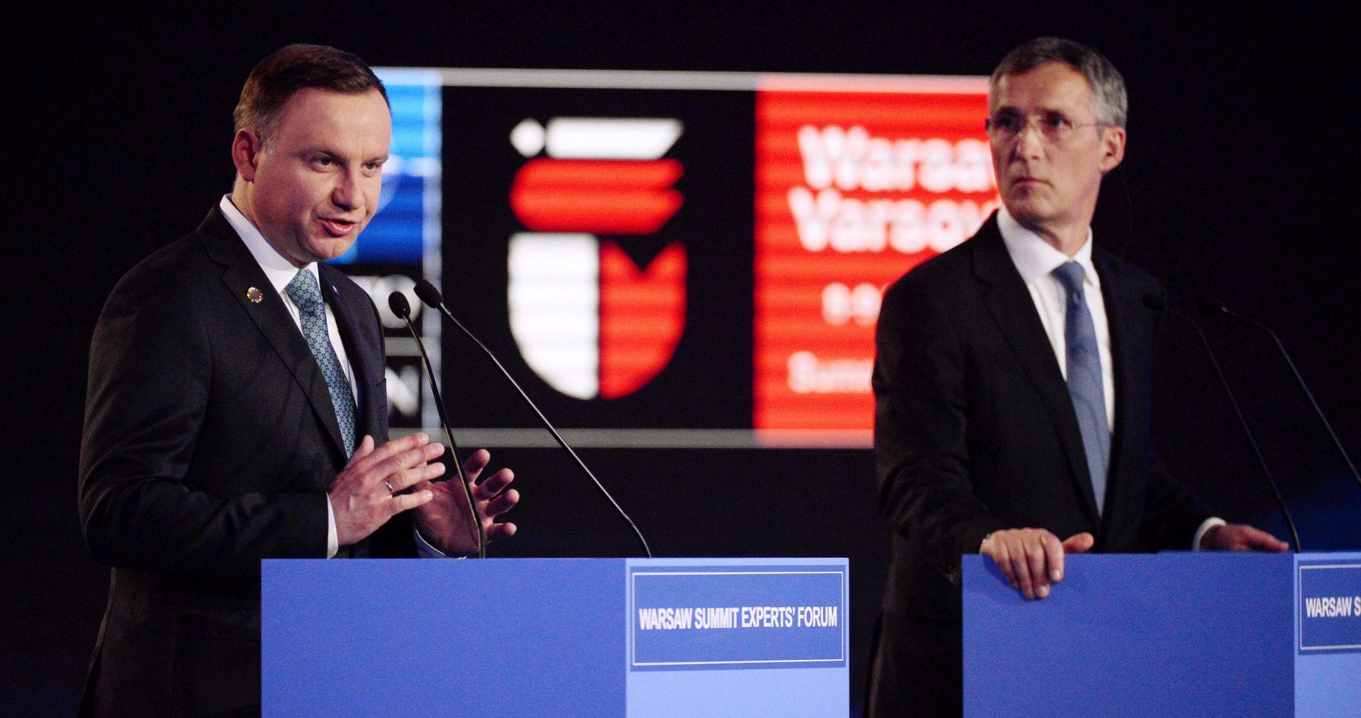 Počinje summit NATO-a u Varšavi