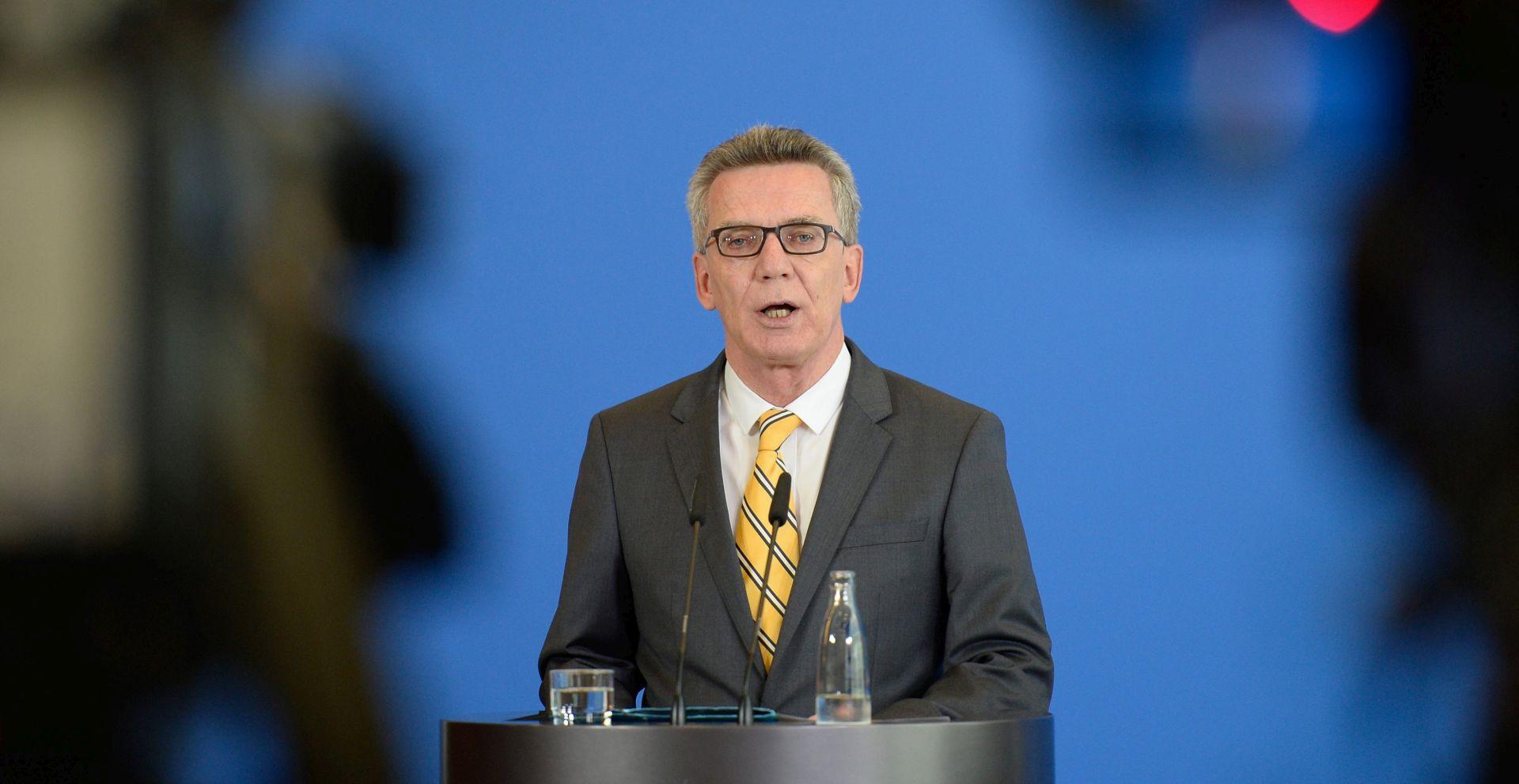 Njemački ministar za uvođenje sustava prepoznavanja lica na kolodvorima i zračnim lukama