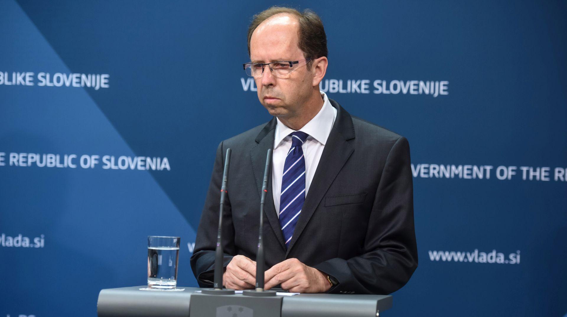 Slovenski parlament potvrdio ostavku ministra financija Mramora