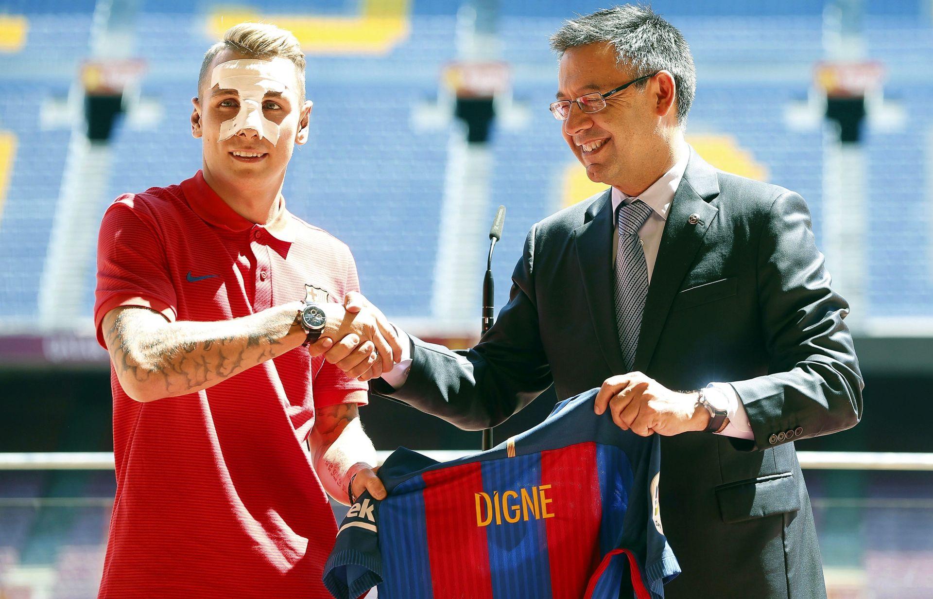 JOŠ JEDAN FRANCUZ NA NOU CAMPU Lucas Digne novi nogometaš Barcelone