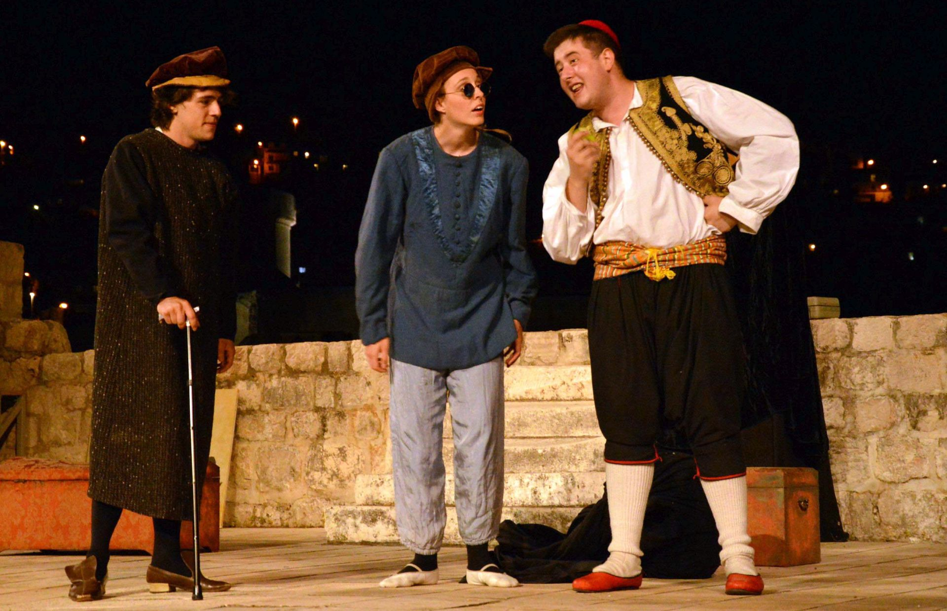 U Dubrovniku Teatar M&M izveo Držićevog Dunda Maroje