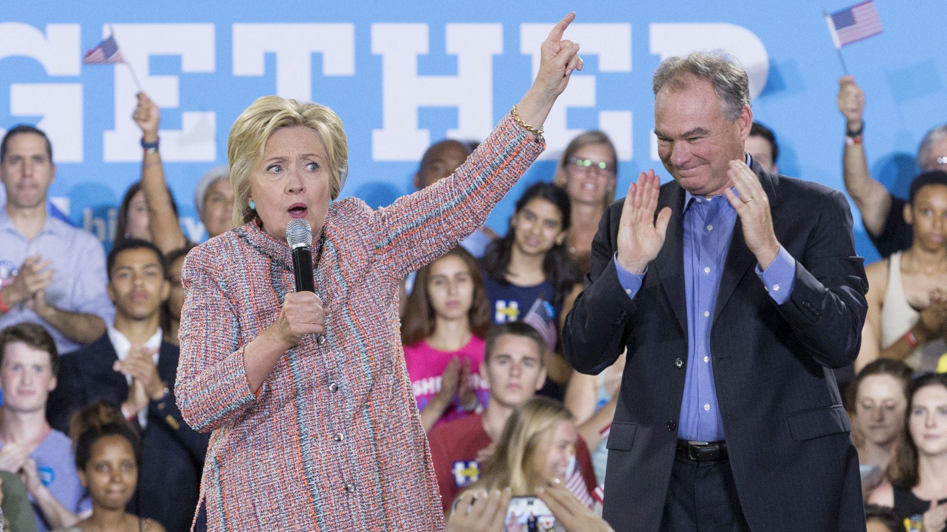 Hillary Clinton izabrala Tima Kainea za potpredsjedničkog kandidata