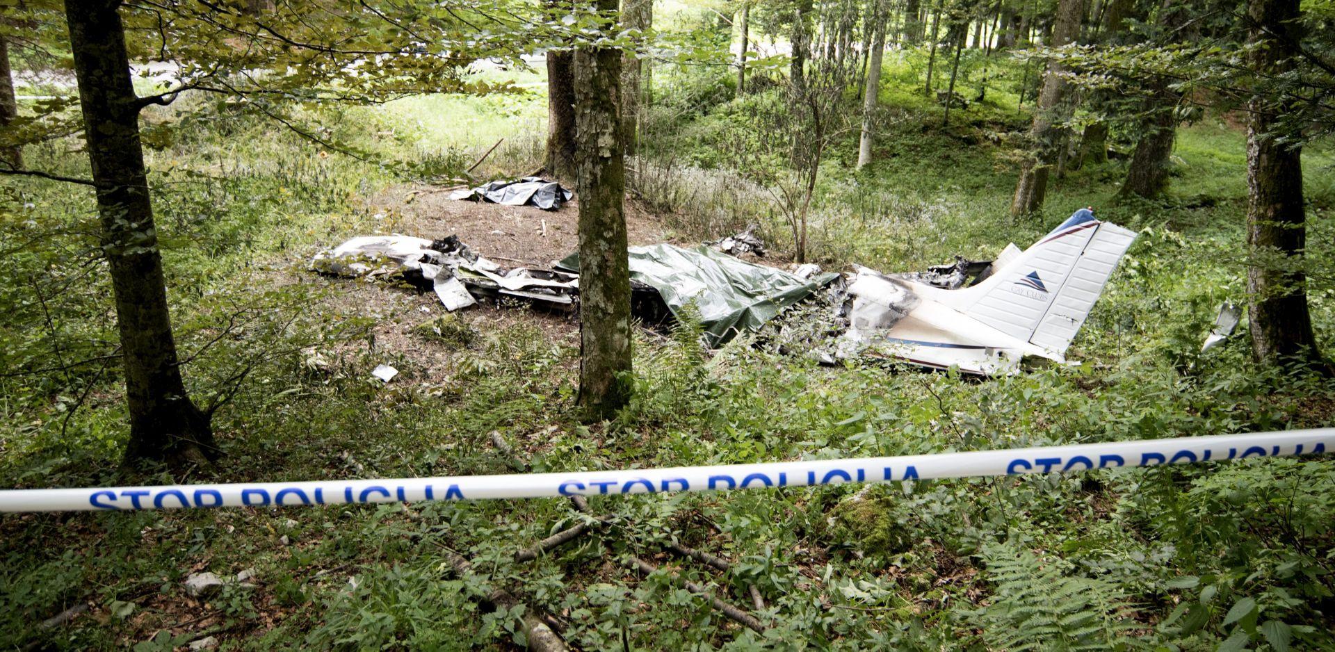 Identificirane dvije žrtve u padu njemačkog zrakoplova u Sloveniji