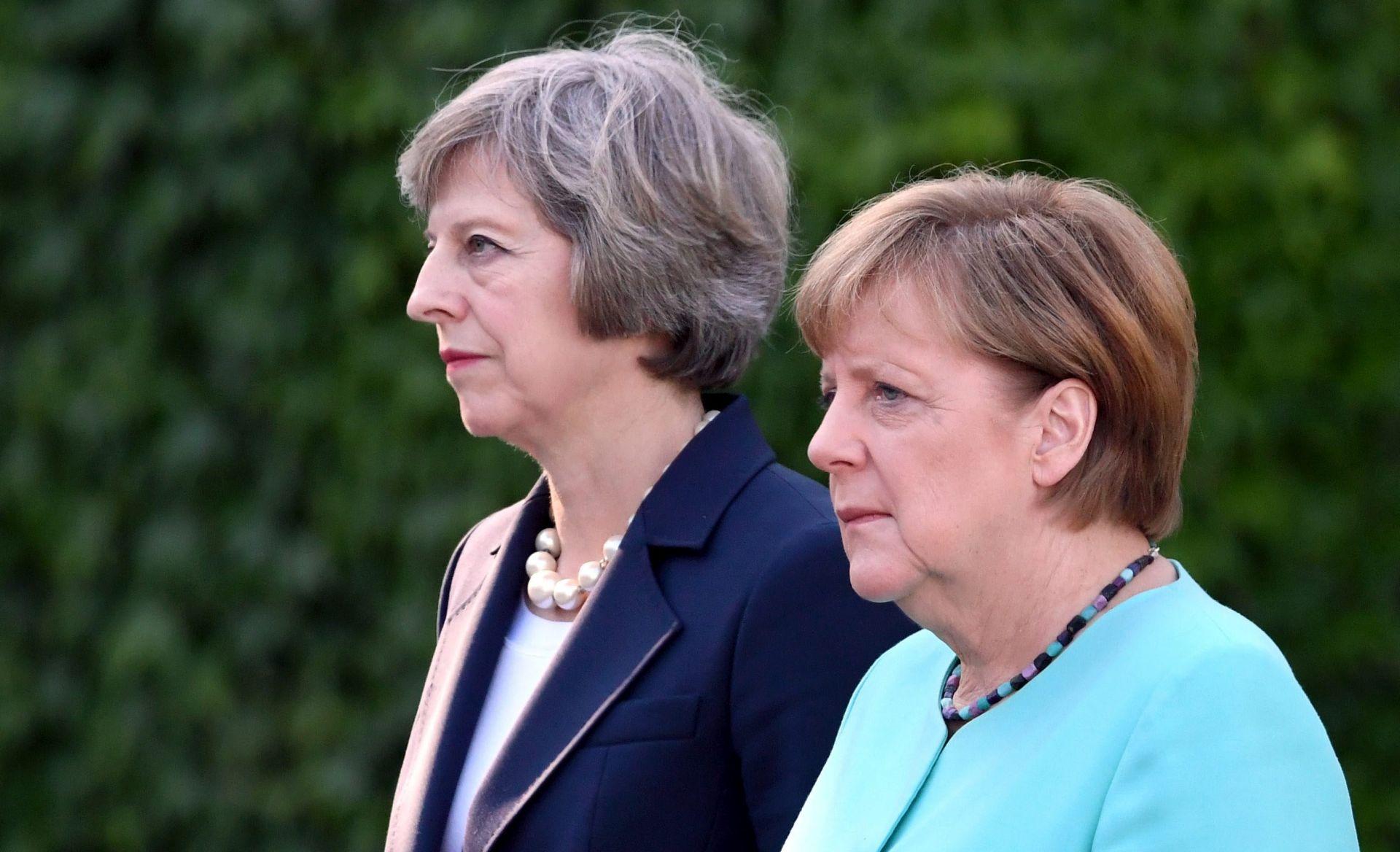 Merkel nakon susreta s May: Njemačka želi dobre odnose s Londonom