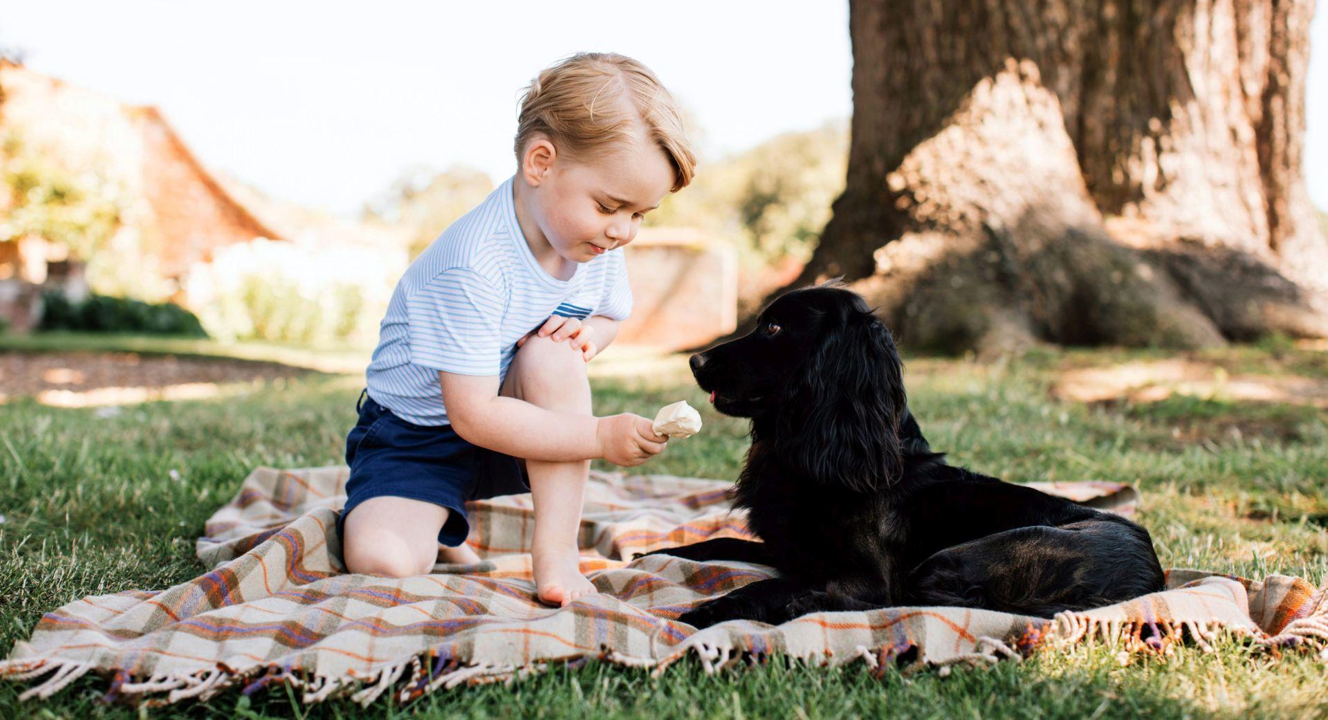FOTO: GEORGE SLAVI TREĆI ROĐENDAN Kraljevska obitelj objavila nove fotografije malog princa