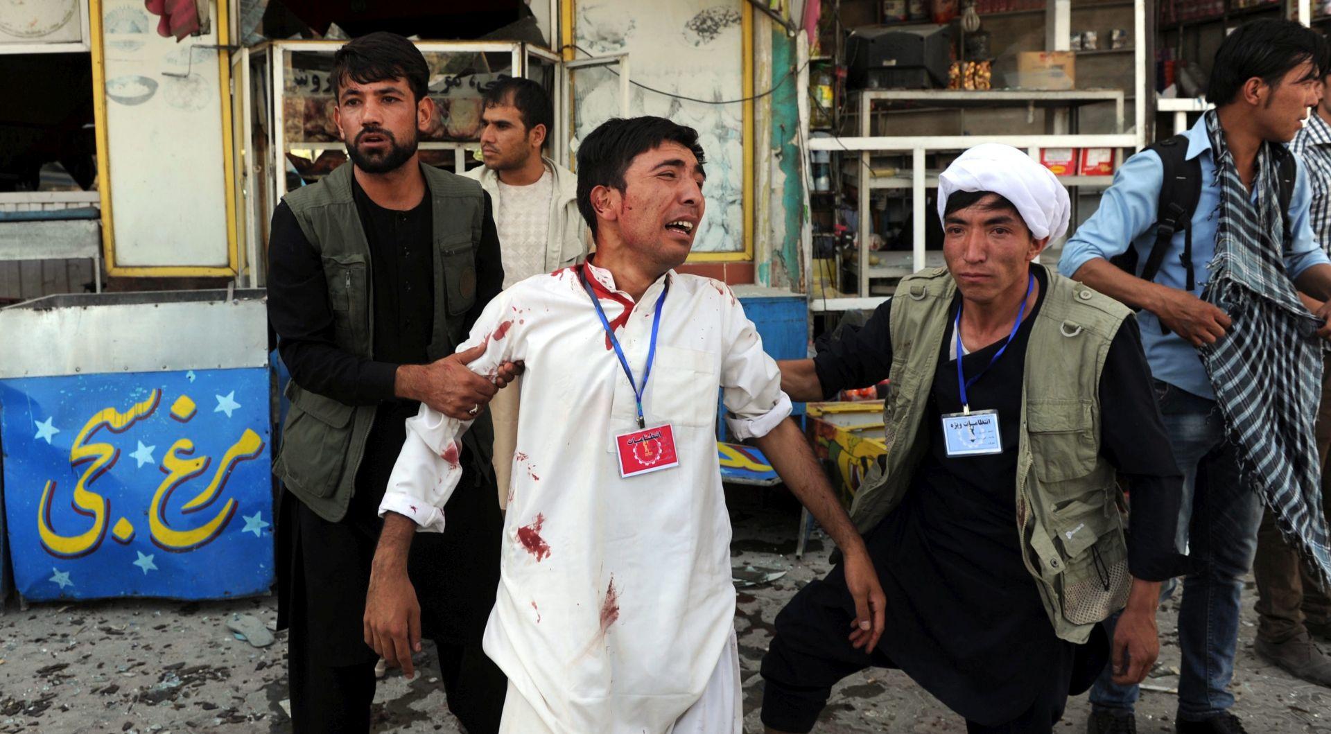 BROJ ŽRTAVA PORASTAO NA 61 Islamska država preuzela odgovornost za napad u Kabulu