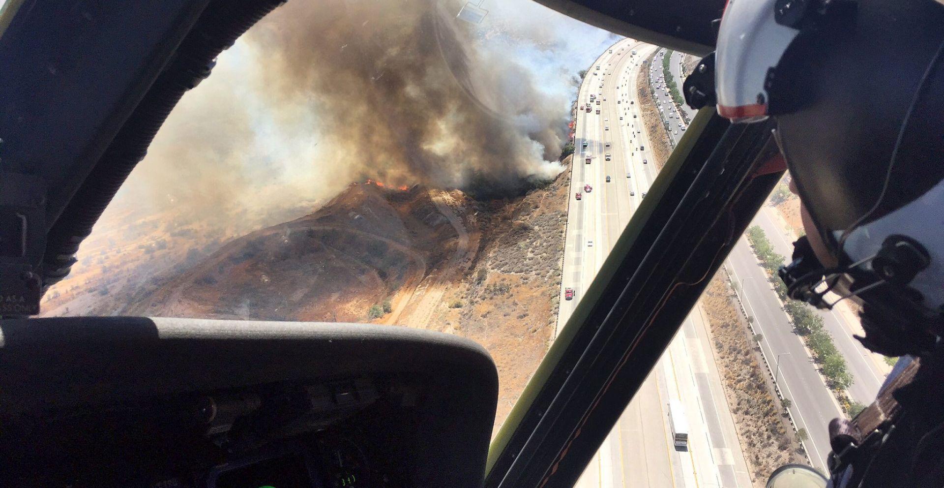 U SAD-u požari prijete naseljima sjeverno od Los Angelesa