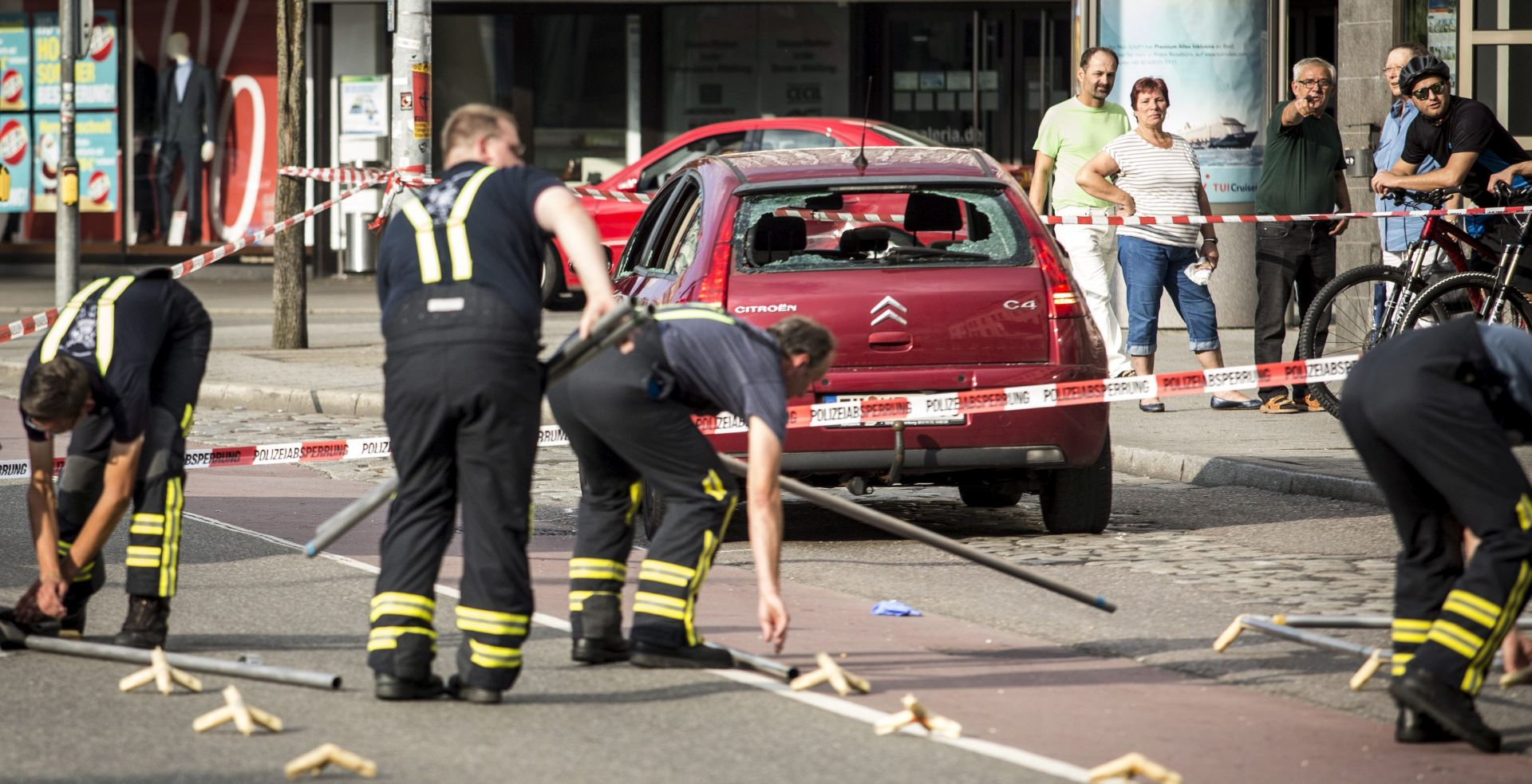 Njemačka policija napad mačetom ne povezuje s terorizmom