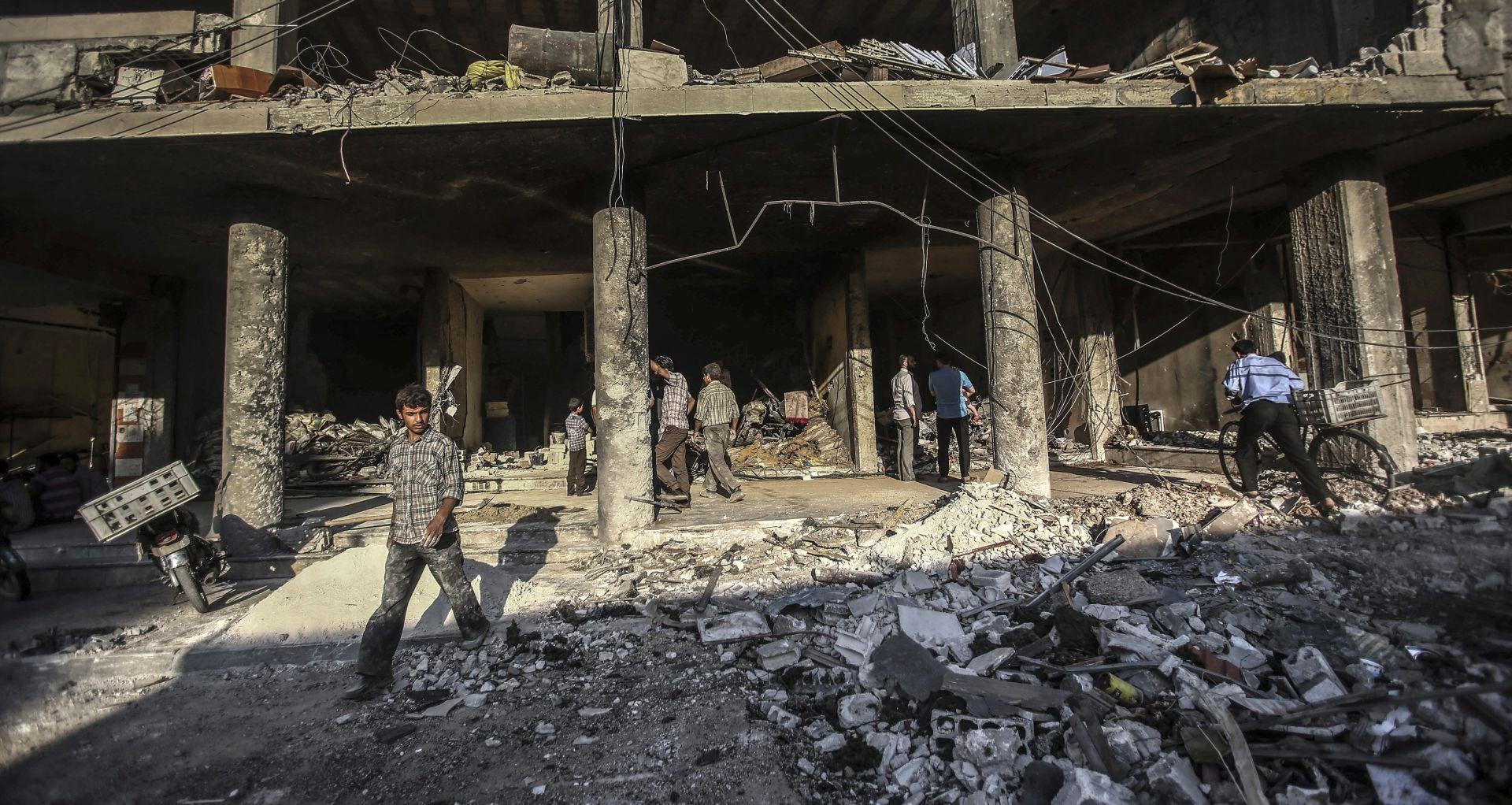 EKSPLODIRAO KAMION Novi napad Islamske države u Siriji, poginule najmanje 44 osobe